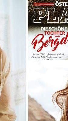 Bergdoktor-Tochter Ronja Forcher ziert das Cover des April-Playboy 2017.