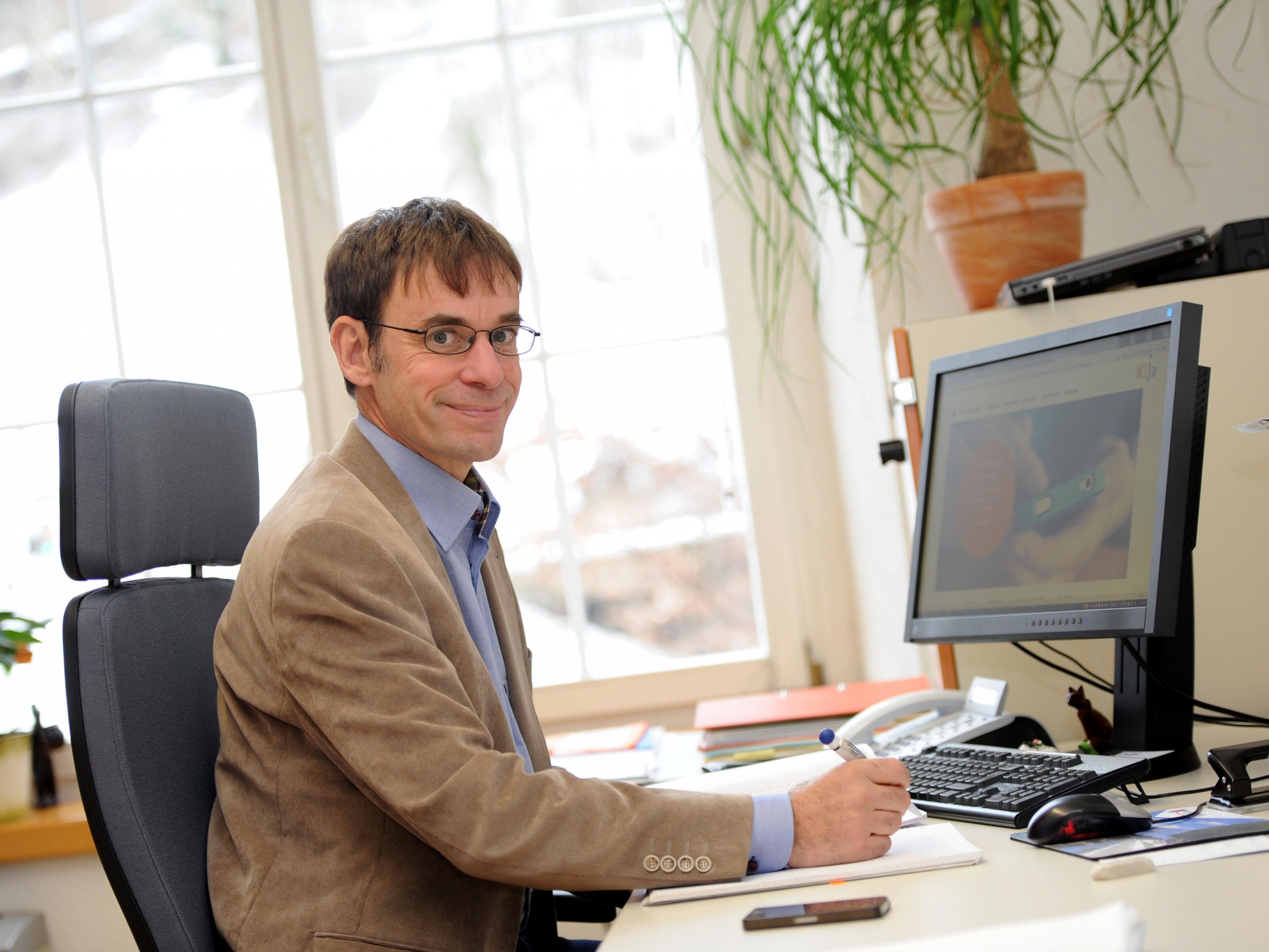 Michael Rauch wurde als Vorarlberger Kinder- und Jugendanwalt bestätigt.
