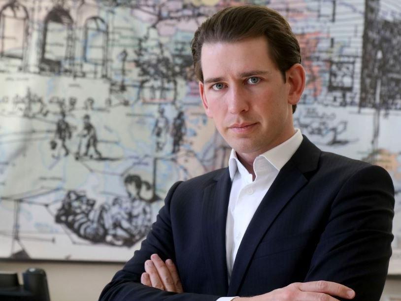 Der österreichische Außenminister Sebastian Kurz.