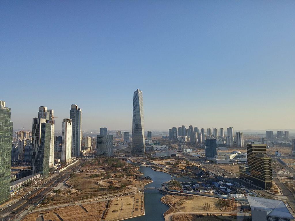 Songdo City in Südkorea: Die sicherste Stadt der Welt.