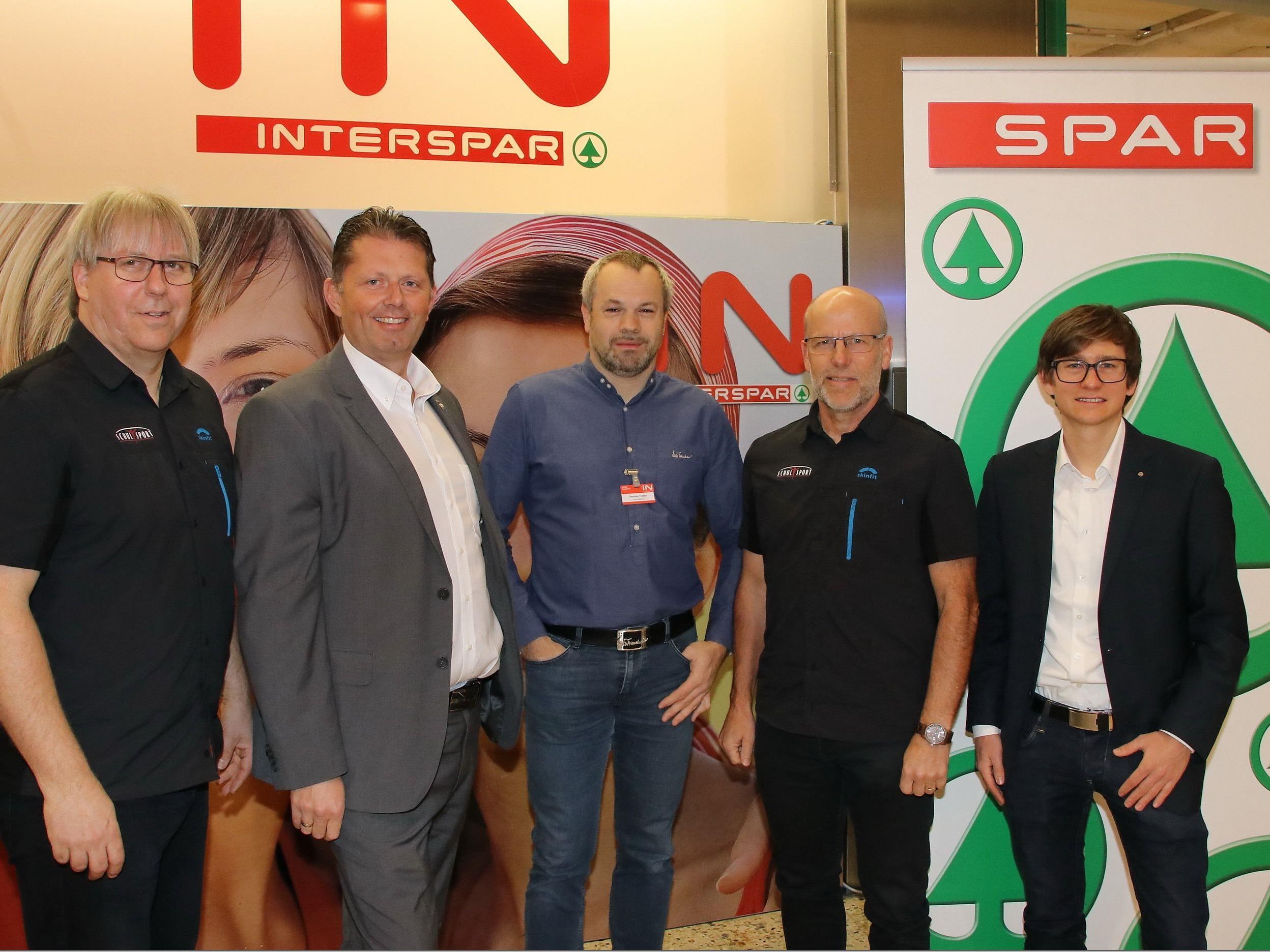 Spar und Interspar Vorarlberg sind Sponsor vom Schulsport