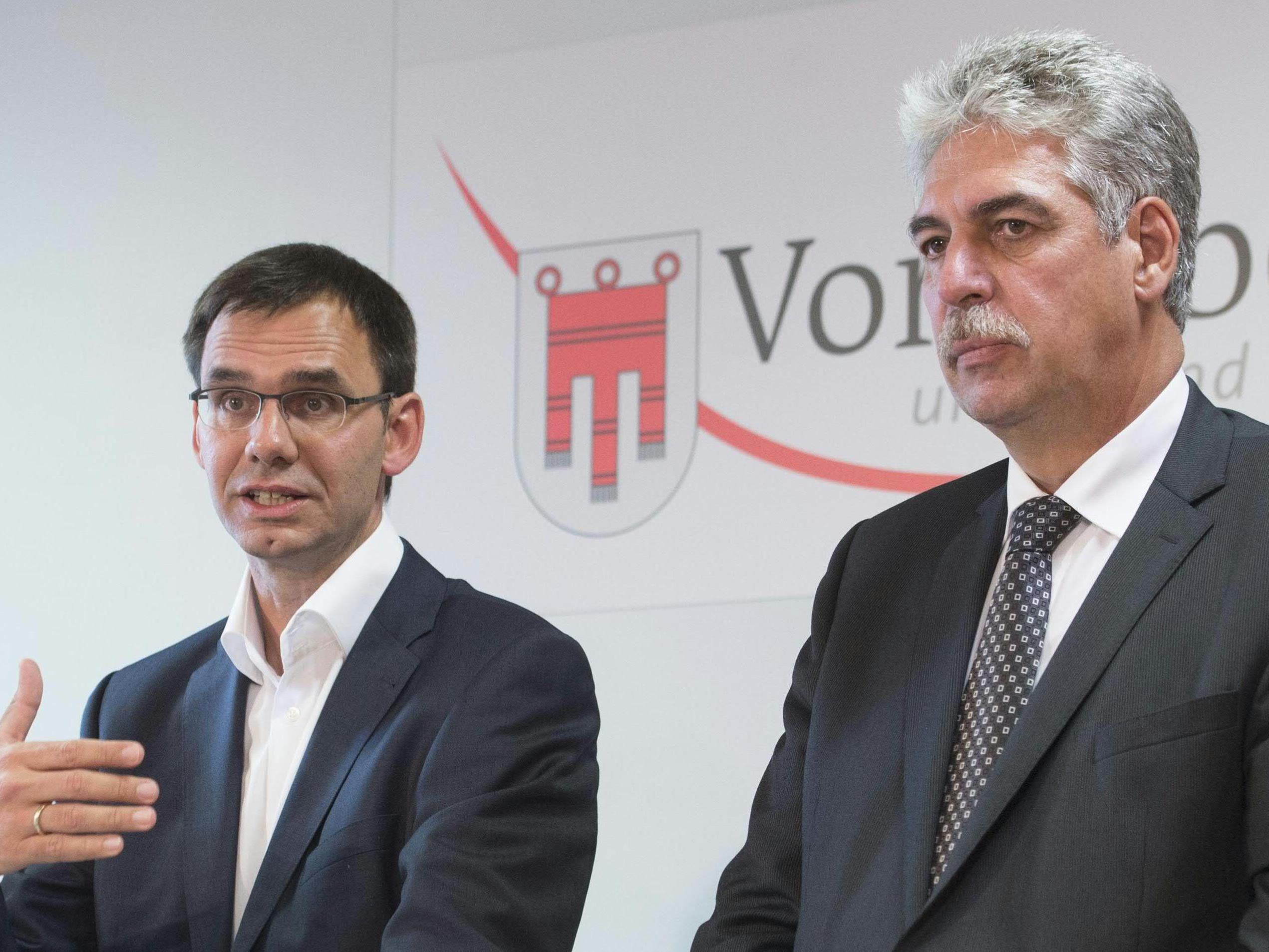Landeshauptmann Markus Wallner (ÖVP) unterstützt im Zusammenhang mit der Abschaffung der kalten Progression den Entwurf seines Parteikollegen Finanzminister Hans Jörg Schelling.