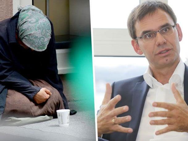 Landeshauptmann Markus Wallner beharrt auf Bettelverbot