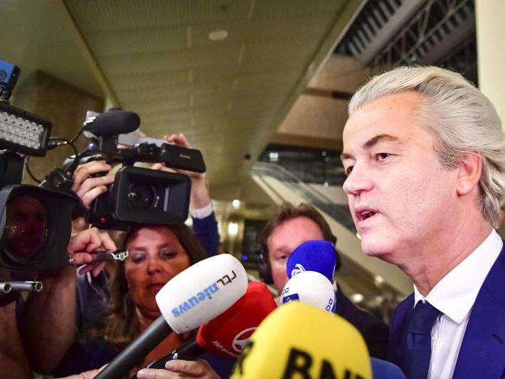 Geert Wilders konnte sein Wahlziel nicht erreichen