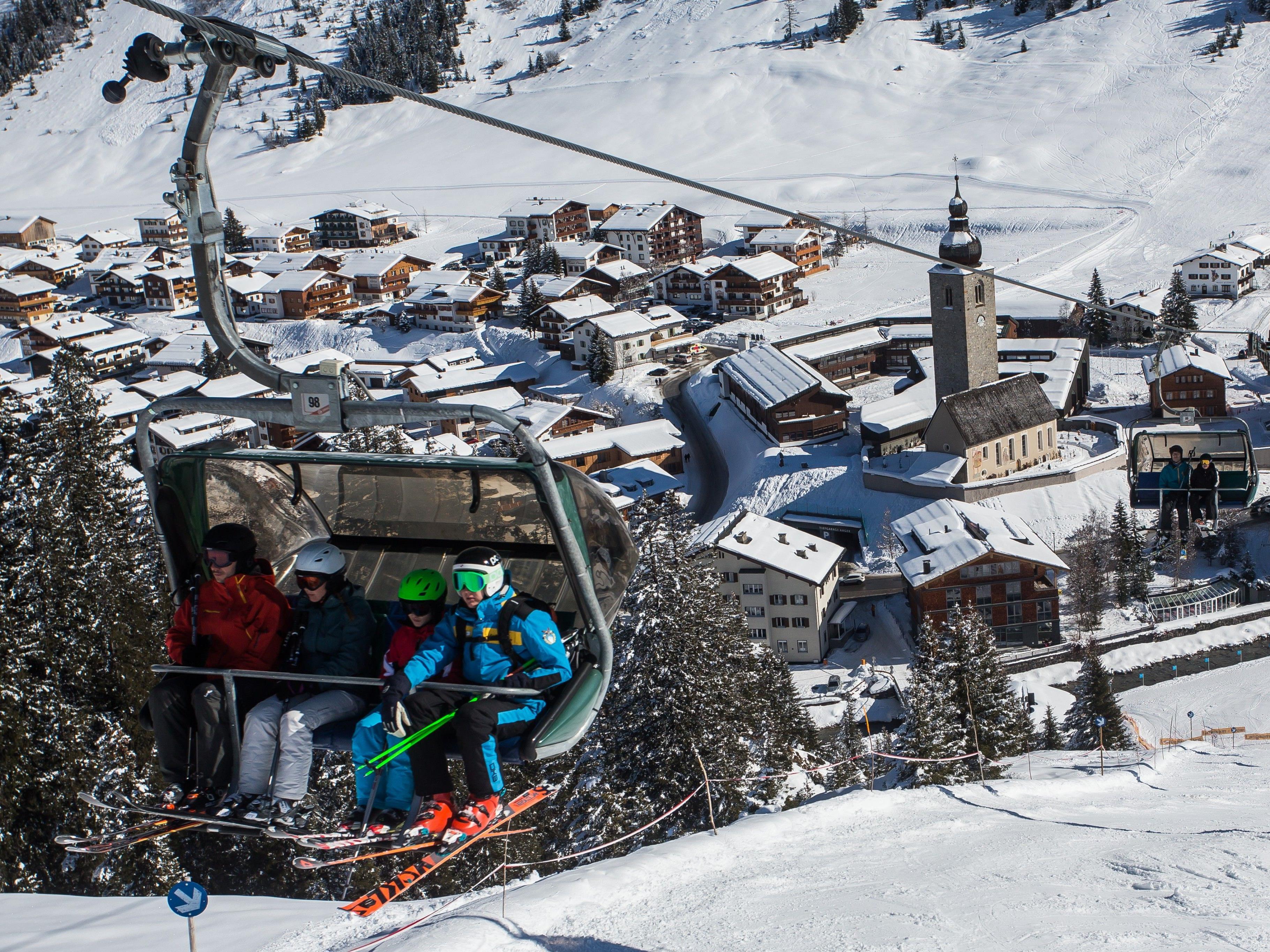 Der Vorarlberger Wintertourismus muss heuer starke Nächtigungsrückgänge verkraften.
