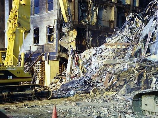 Die Bilder zeigen das Ausmaß der Zerstörung im Pentagon