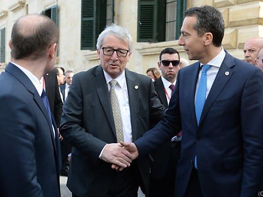 Juncker sieht Österreich beim Relocation-Programm in der Pflicht