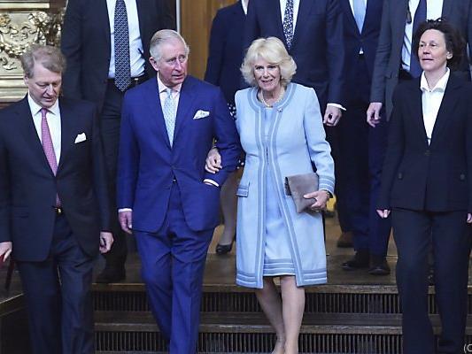 """Prinz Charles bezeichnete das Konzert als """"wonderful"""""""