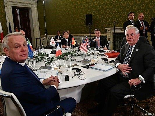 G-7-Außenminister trafen einander im italienischen Lucca