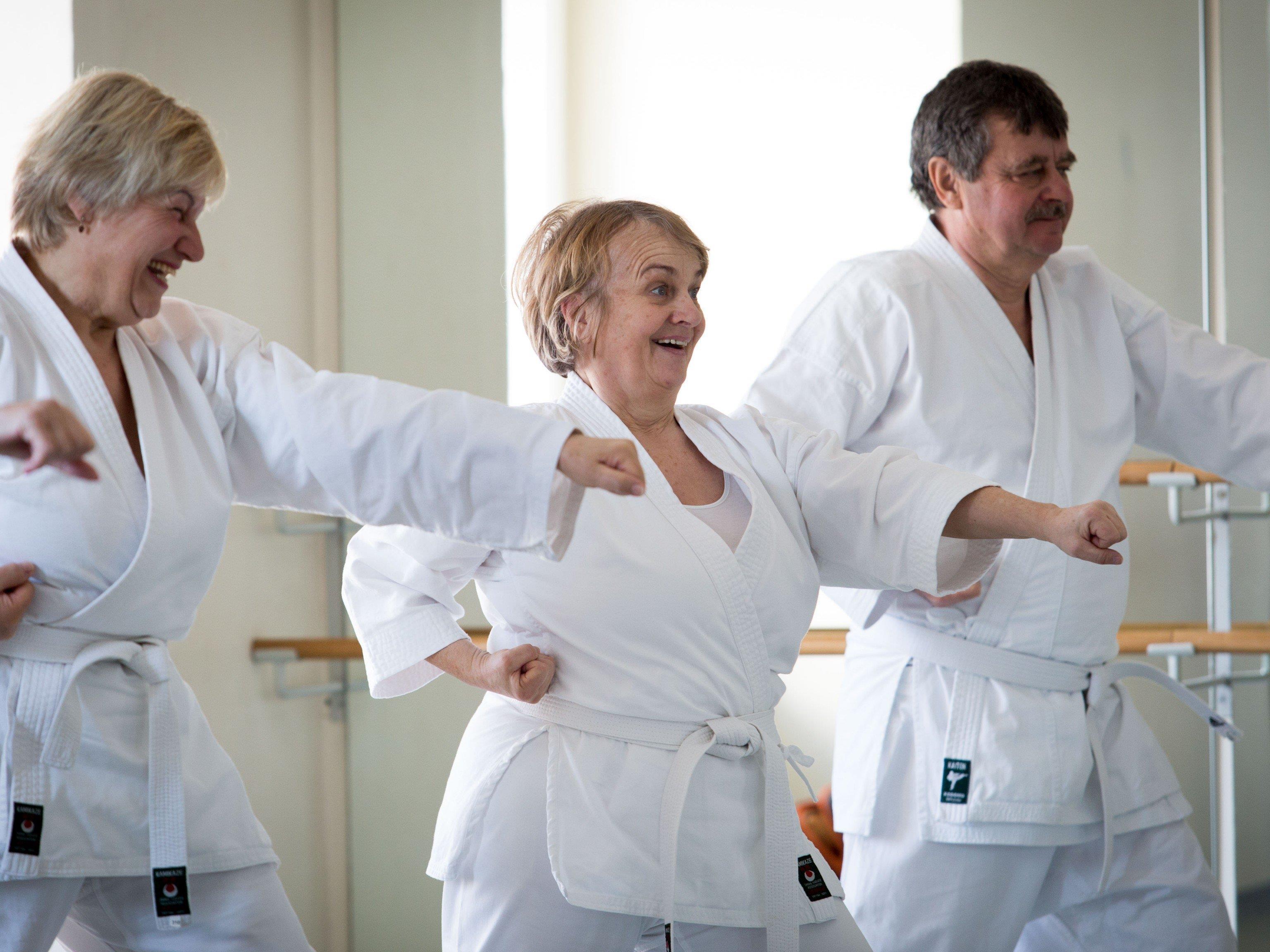 Karate macht fit, gesund und glücklich!