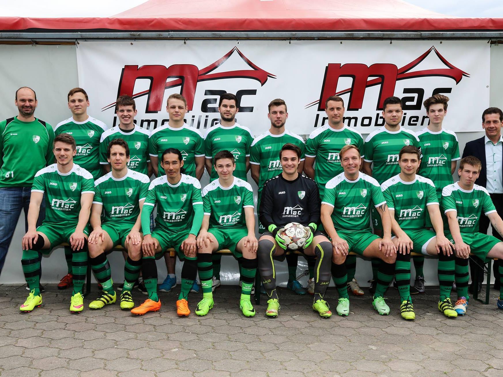 FC Sulz 1c mit den neuen Dress