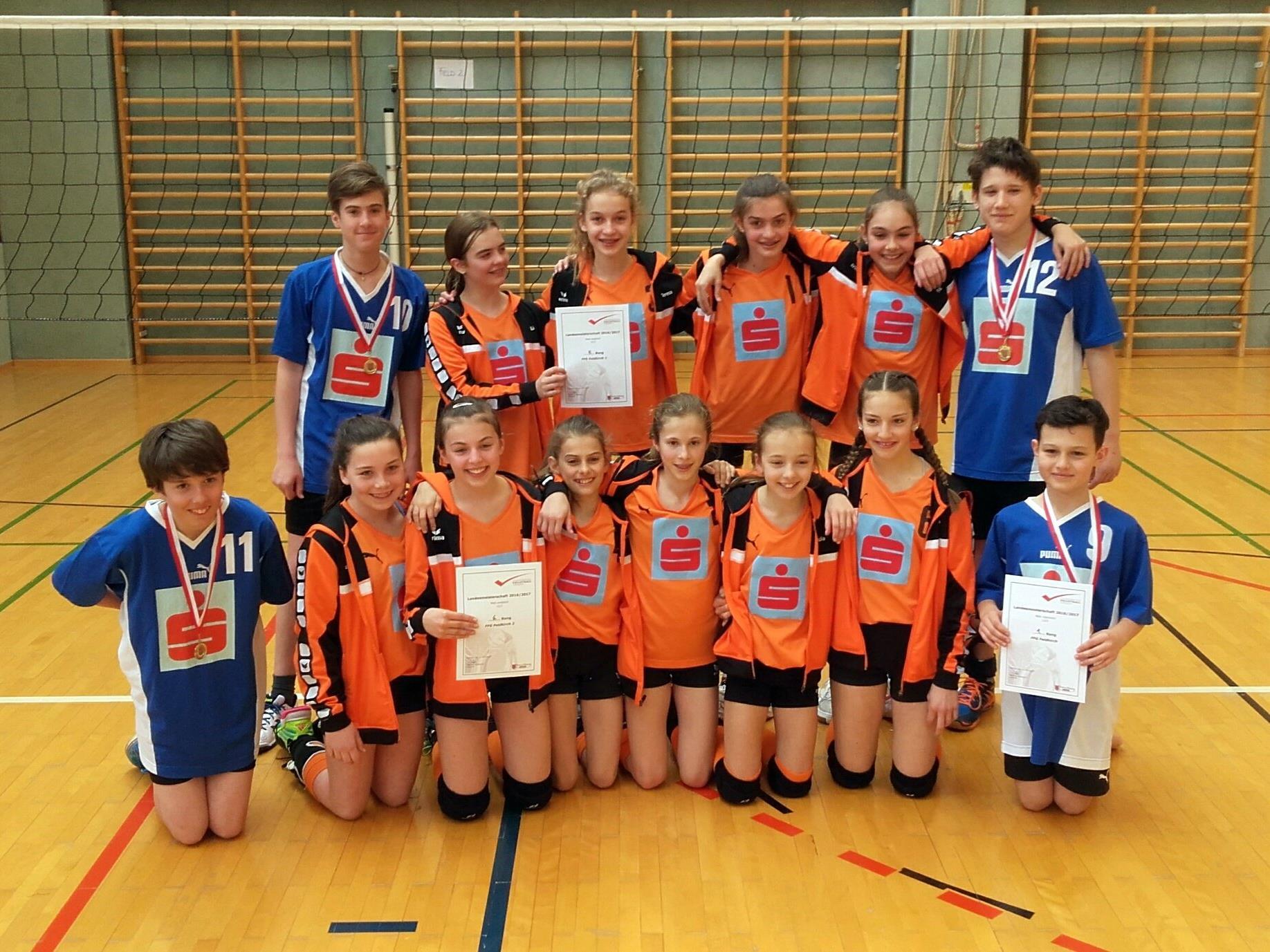 Die erfolgreichen U13-Teams der FFG Feldkirch