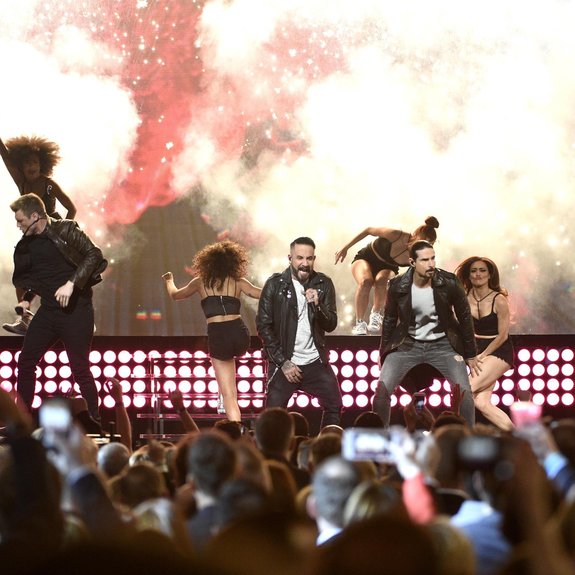 Die Backstreet Boys waren das Highligt der ACM Awards