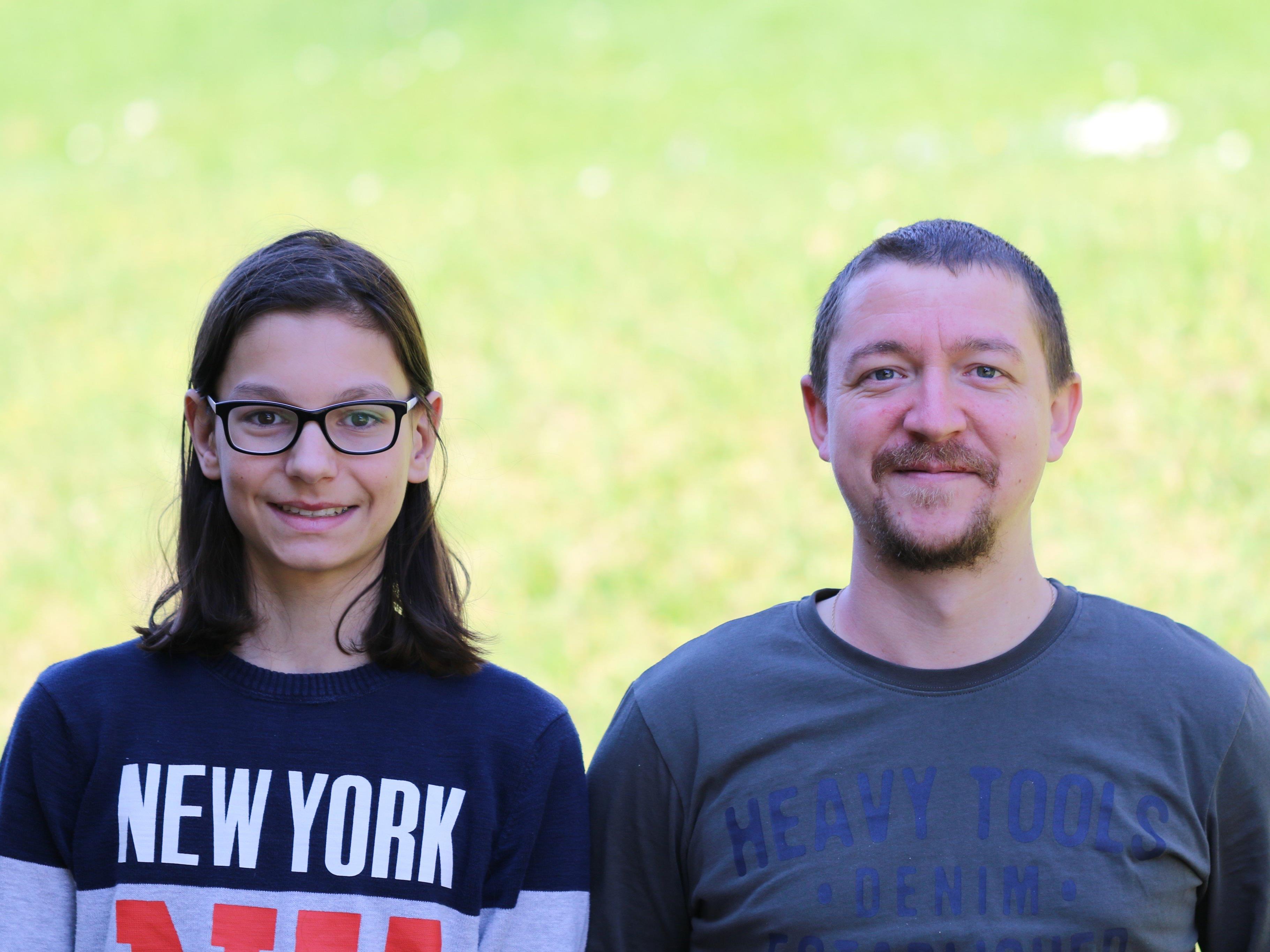 Tim Gappmeier und Gabor Szekeres sind zwei talentierte Musiker des MV Concordia