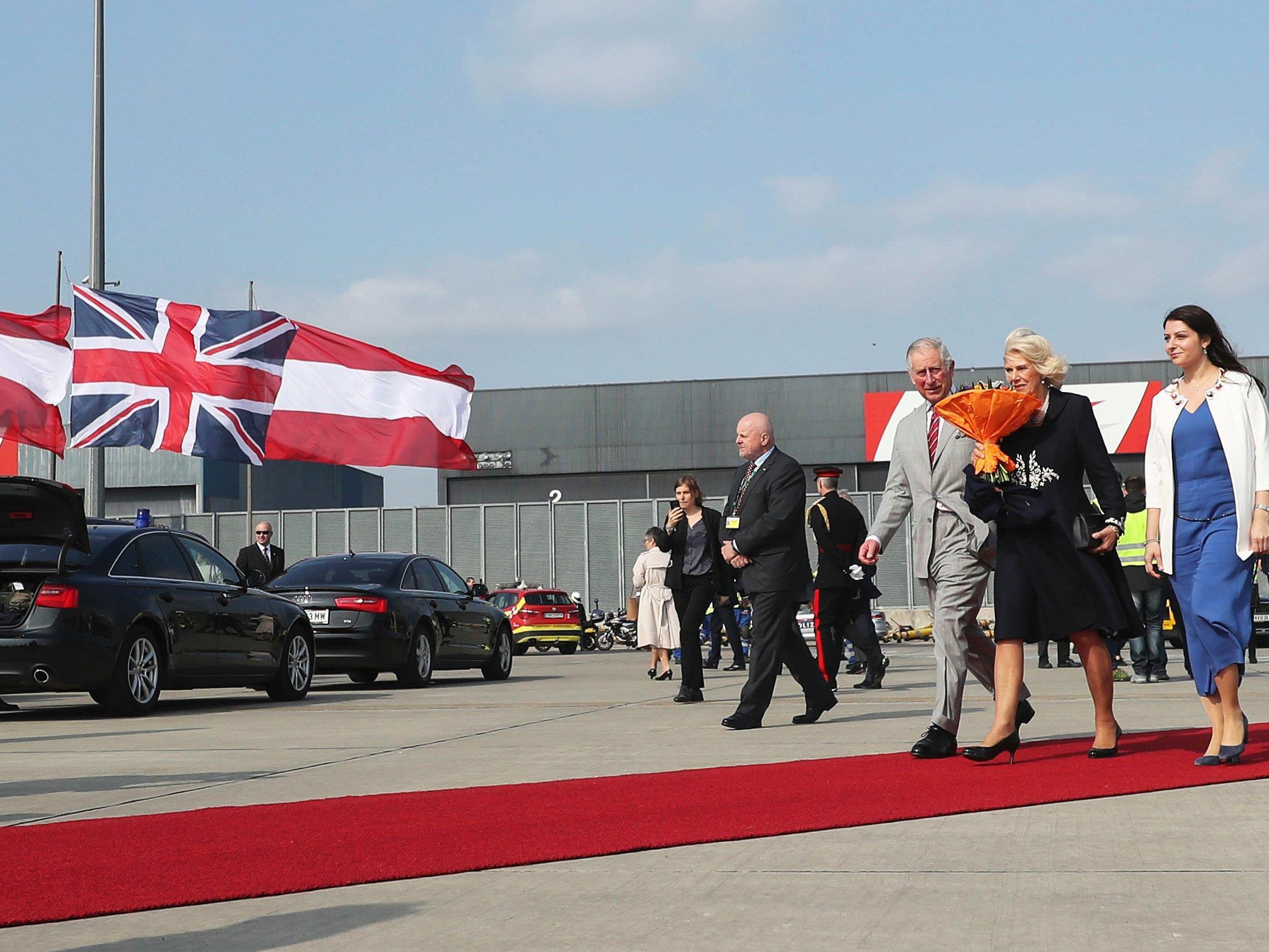 LIVE: Ab 17.00 Uhr trifft Prinz Charles Bundespräsident Alexander Van der Bellen.