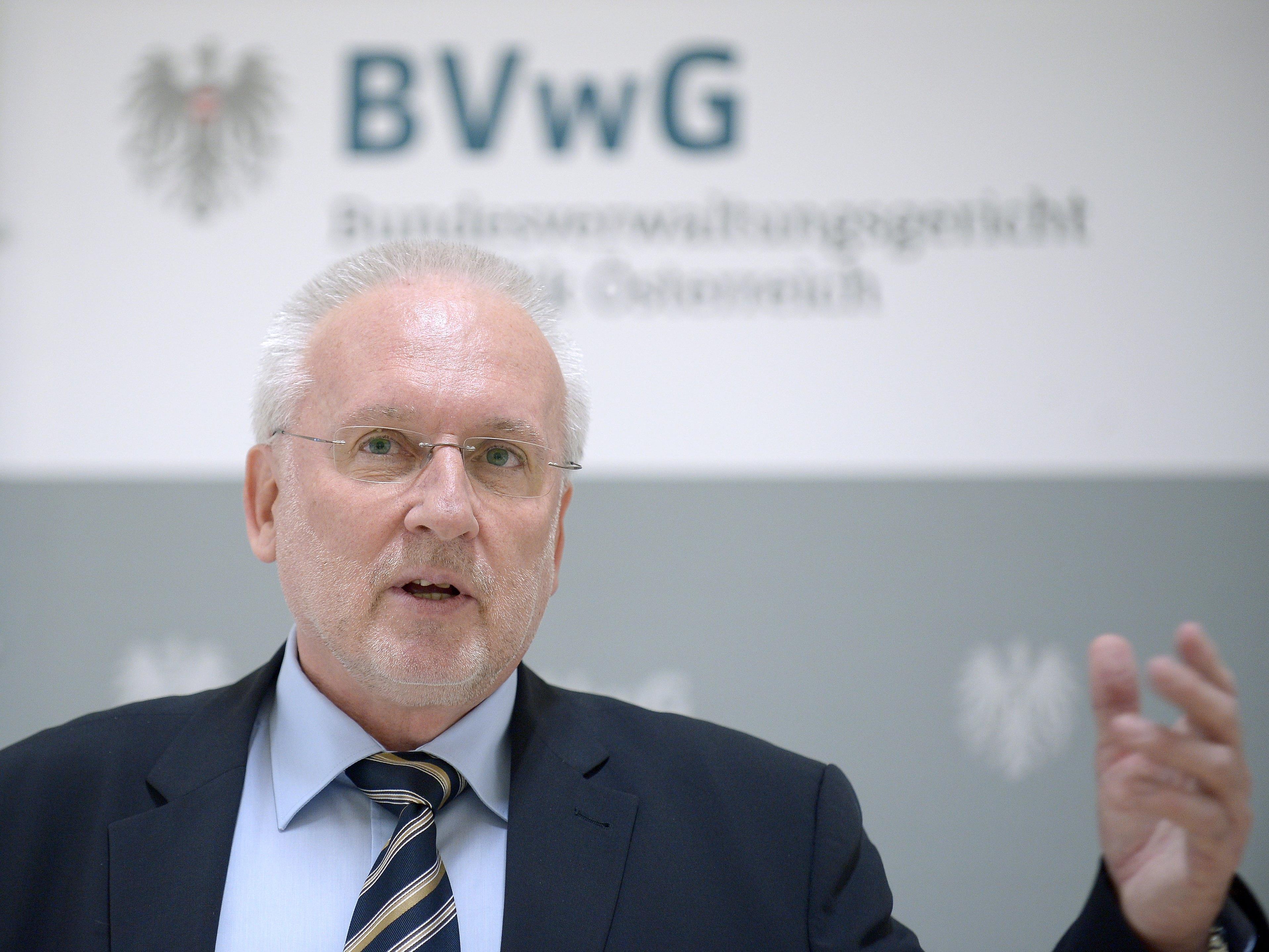 Der Präsident des Bundesverwaltungsgerichts (BVwG) verteidigt das Urteil.