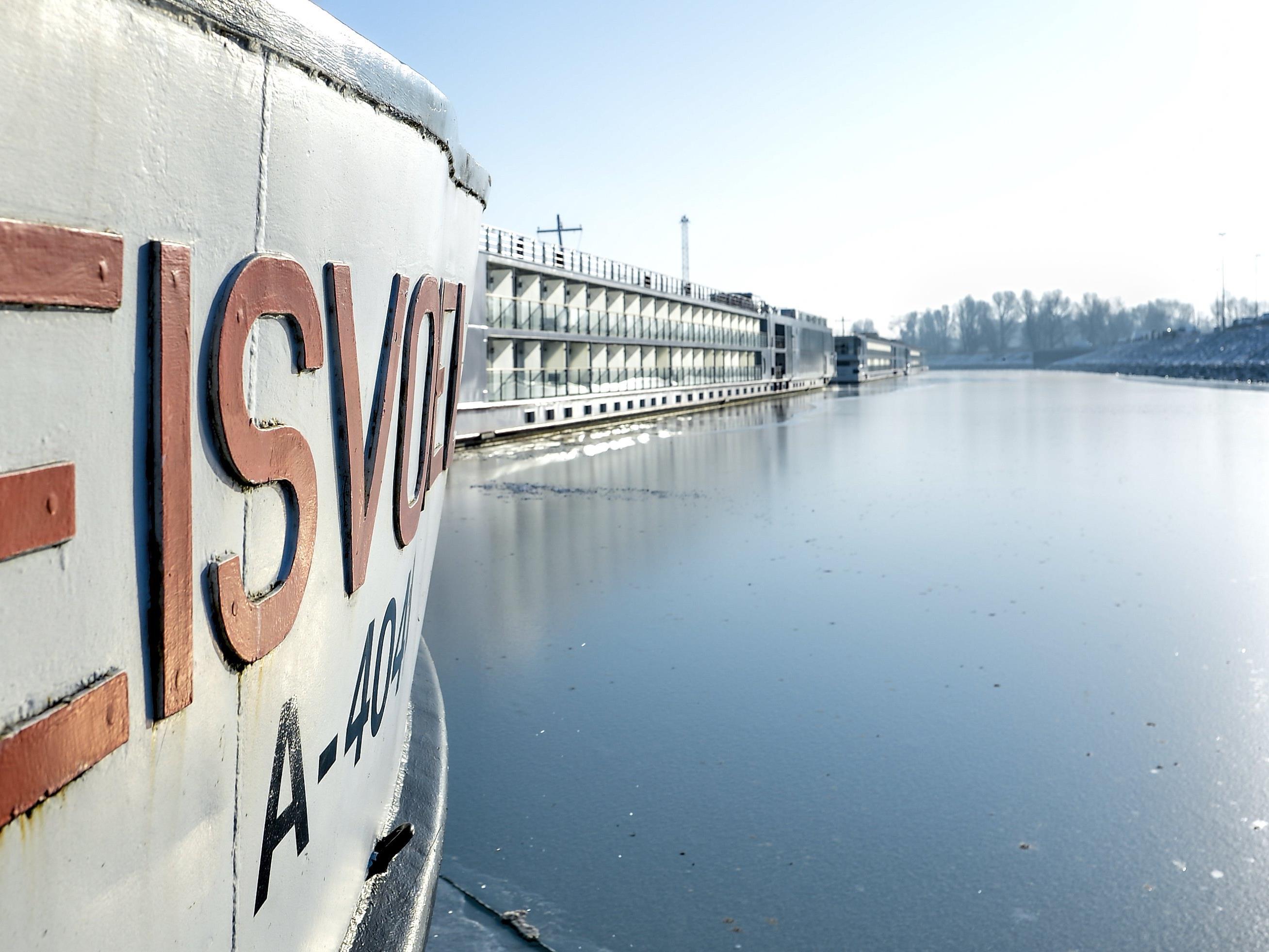 Am Wiener Hafen wird an Land autonomes Fahren getestet.