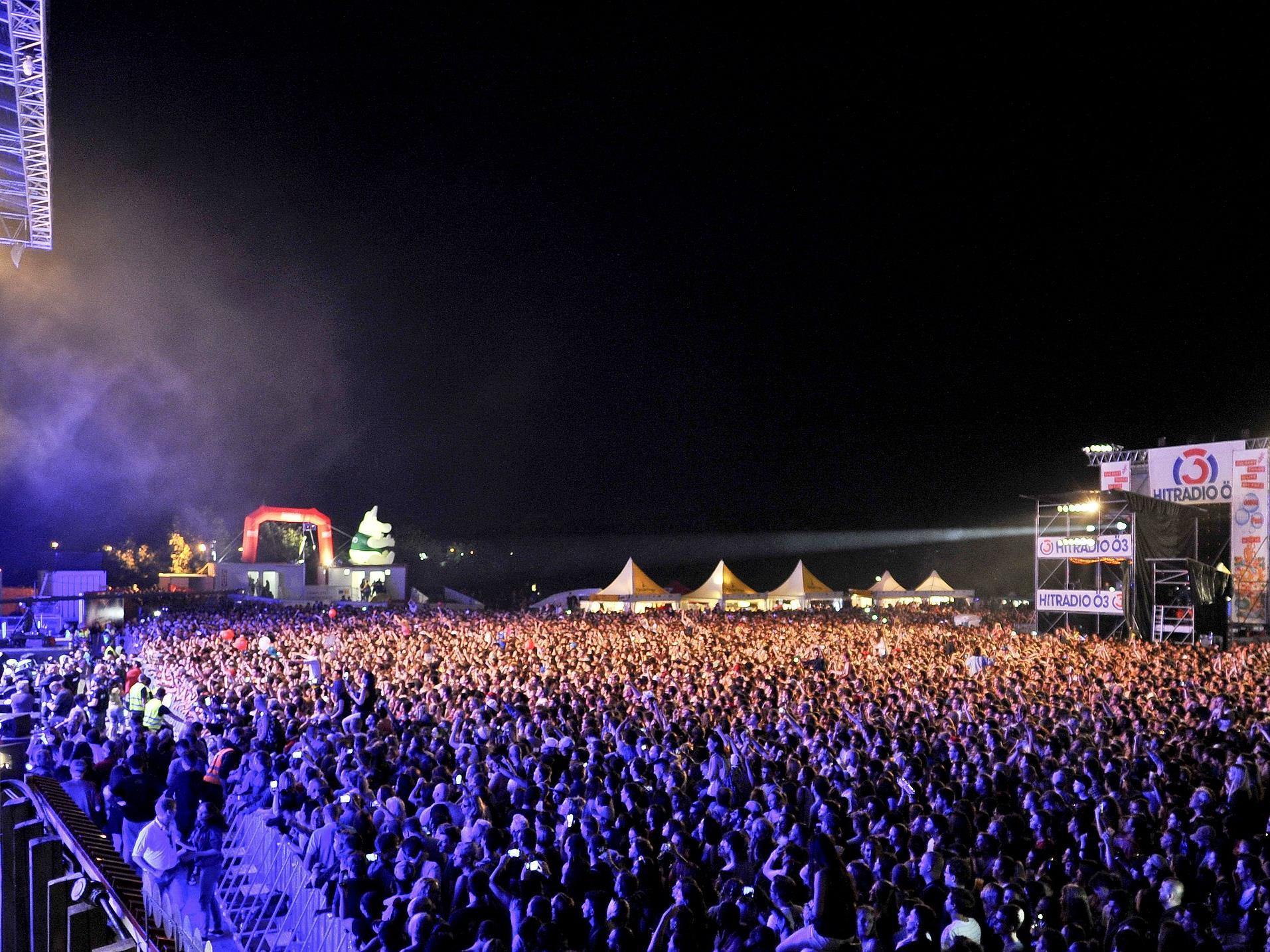 Wir berichten LIVE von der ersten Donauinselfest-PRessekonferenz 2017.