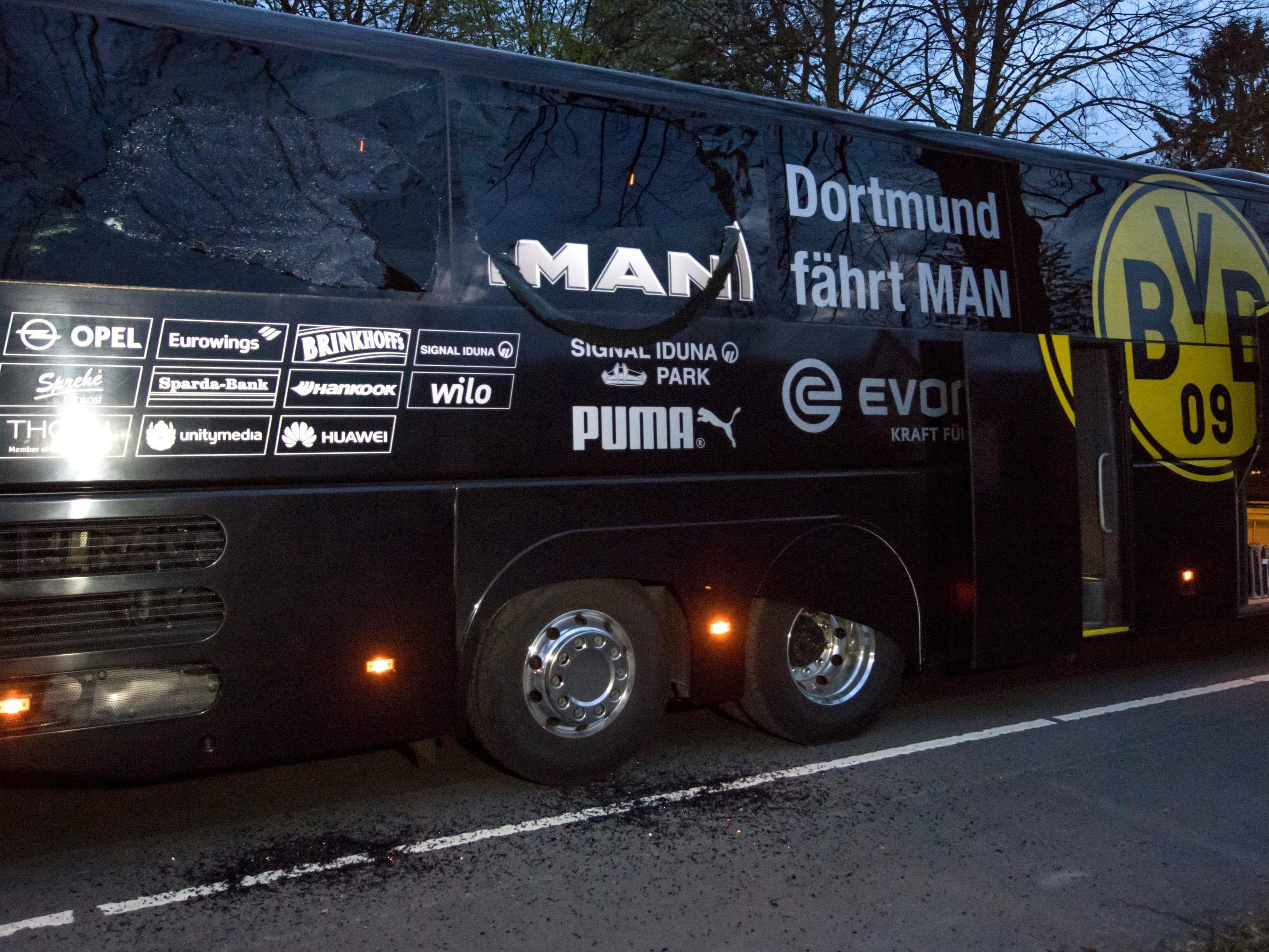 """Laut einem Bericht der """"Welt"""" hat die deutsche Bundesanwaltschaft die Ermittlungen zum Anschlag auf den Mannschaftsbus des BVB übernommen."""