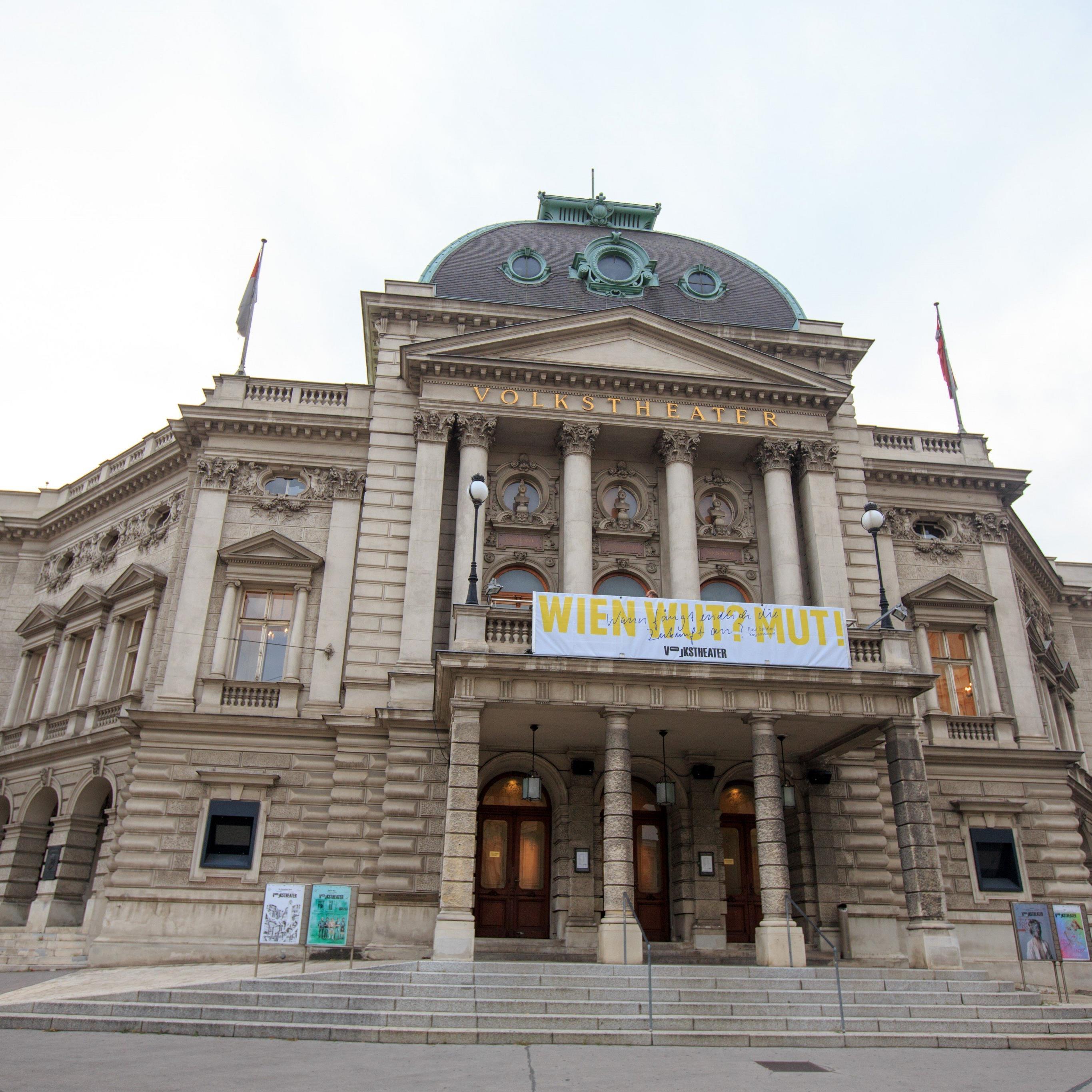 Das Wiener Volkstheater bekommt mit 6. Mai eine neue Adresse.