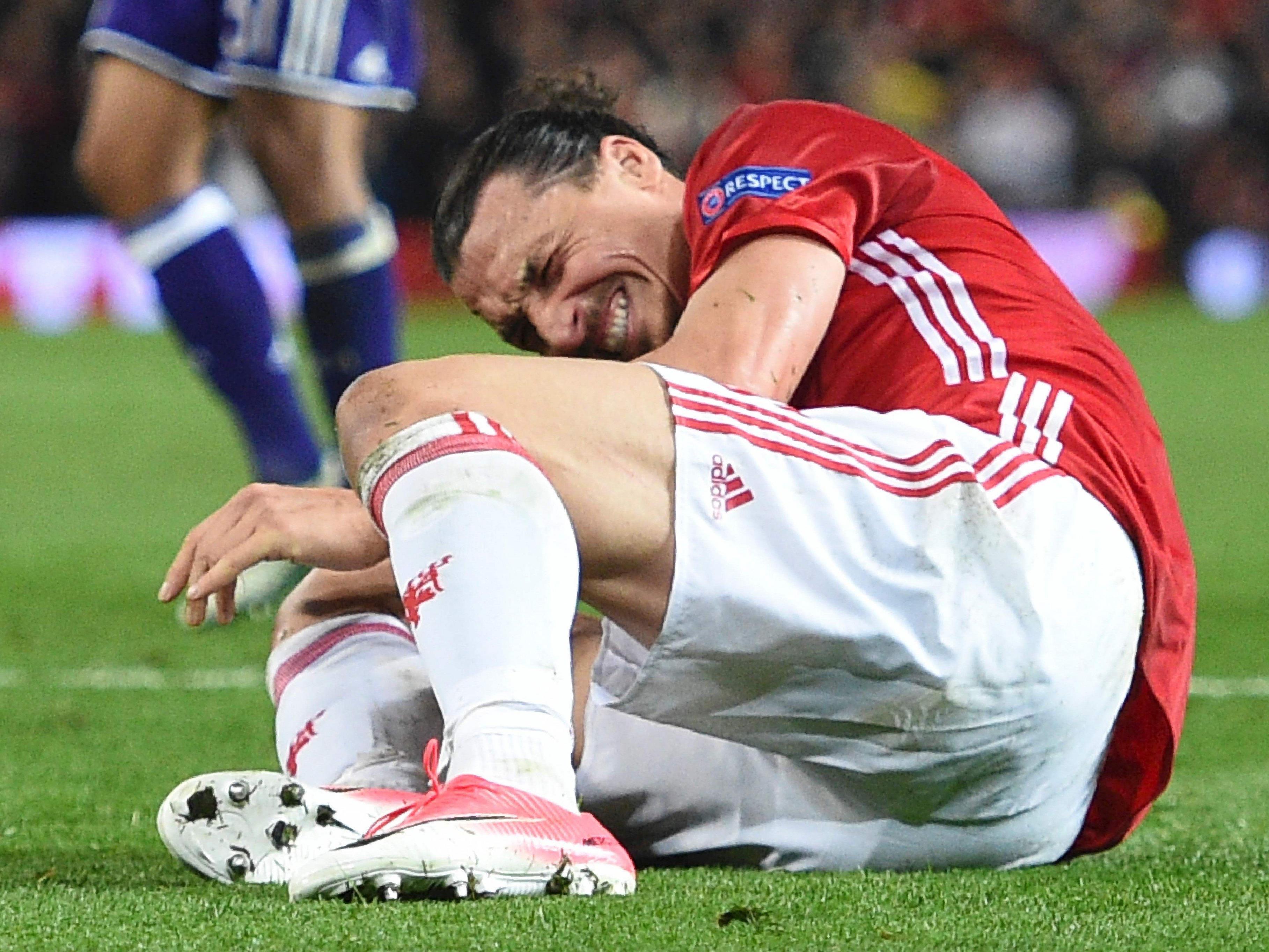 Ibrahimovic Verletzung