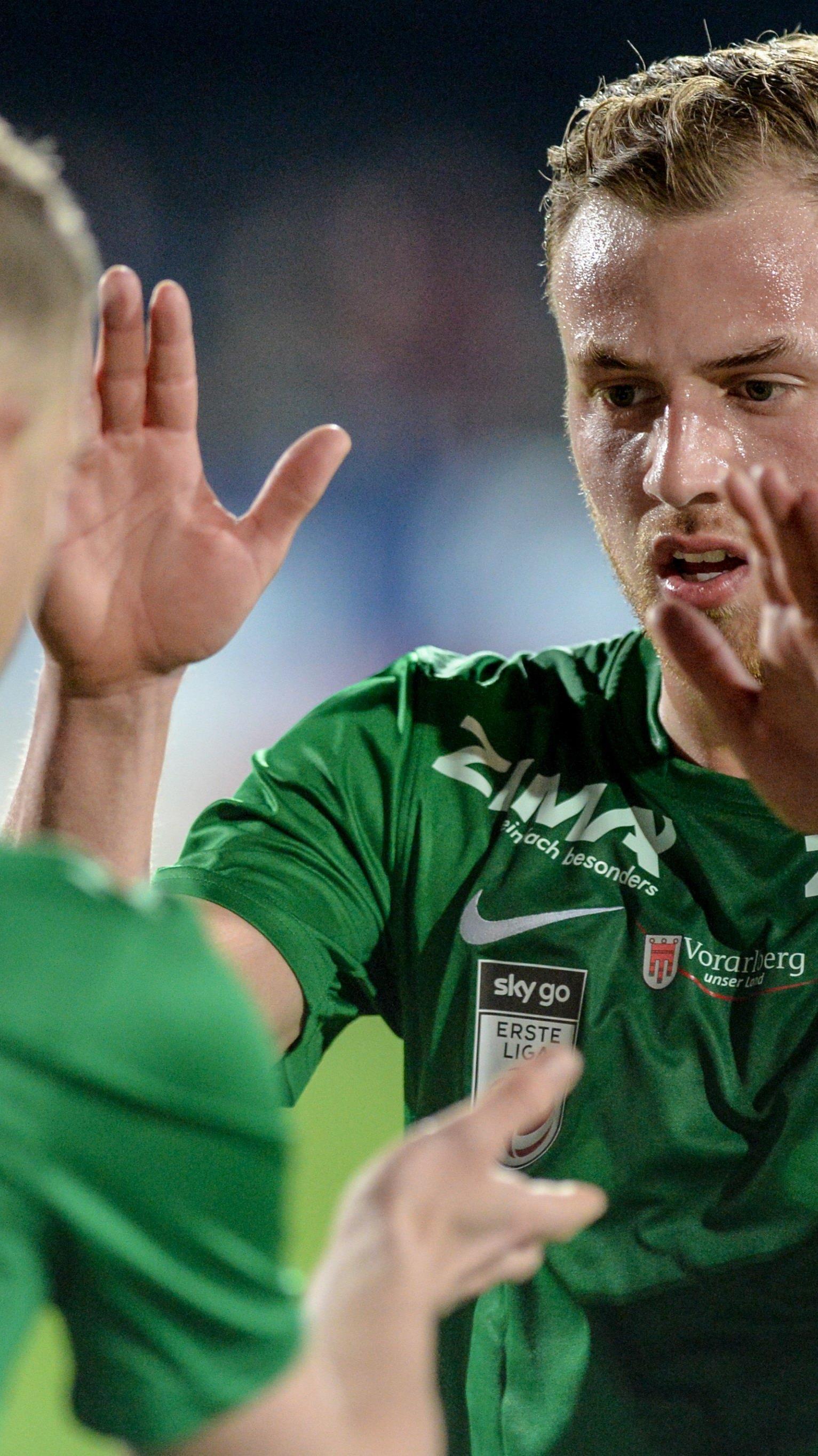 Austria Lustenau tritt als Außenseiter gegen den LASK an.