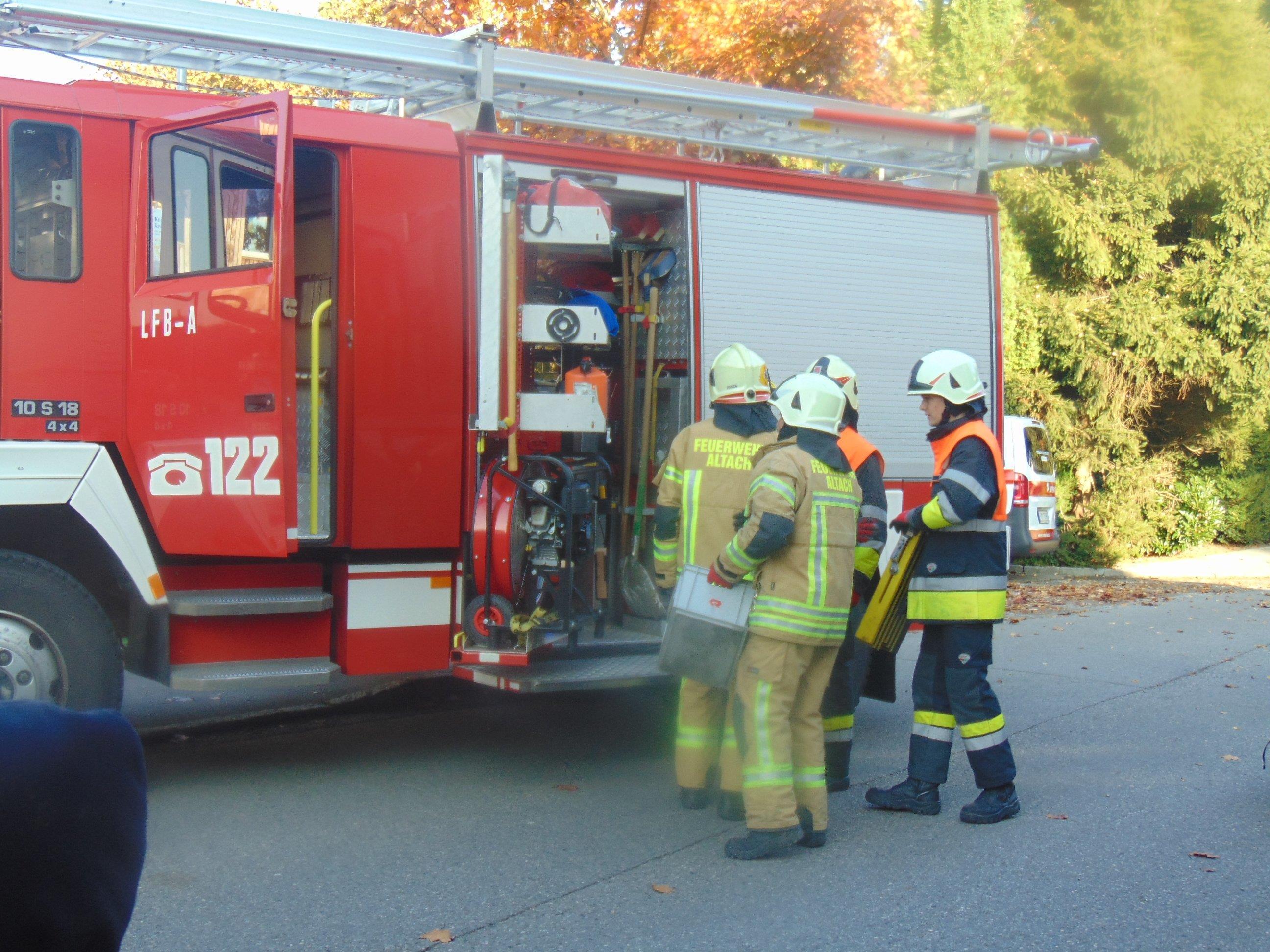 Altach plant die Ersatzbeschaffung eines Tanklöschfahrzeuges für die Feuerwehr