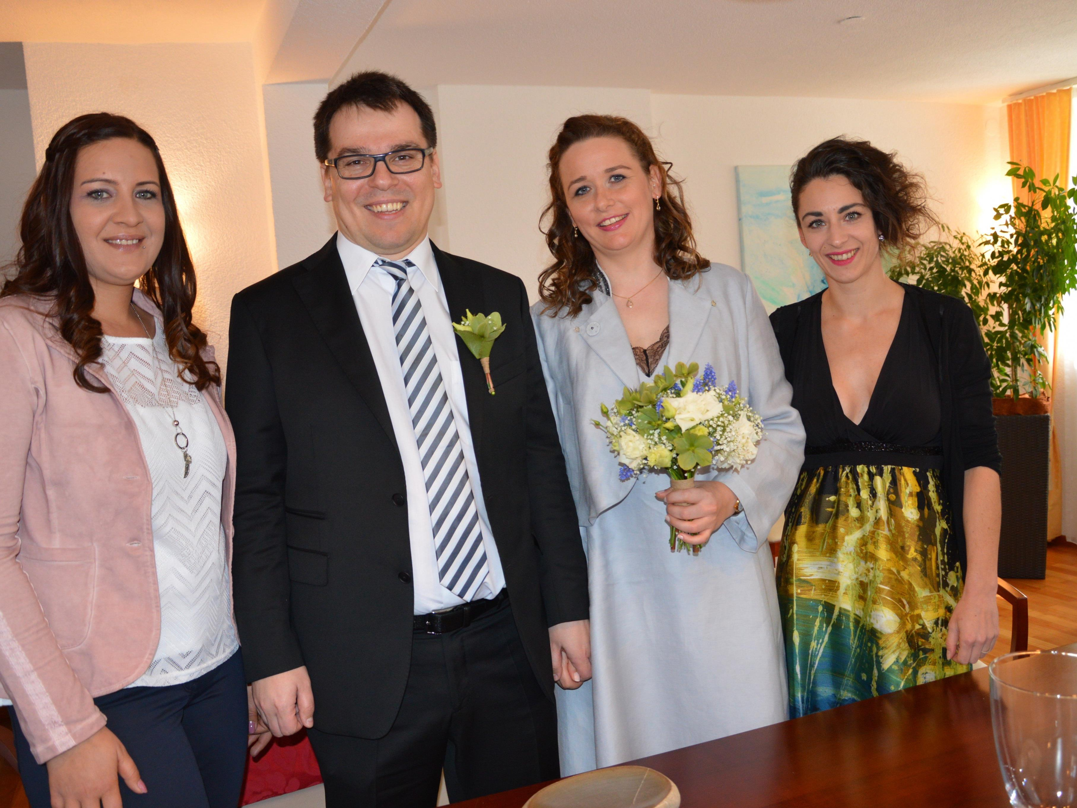 Mirjam Kainz und Sascha Böhler haben geheiratet