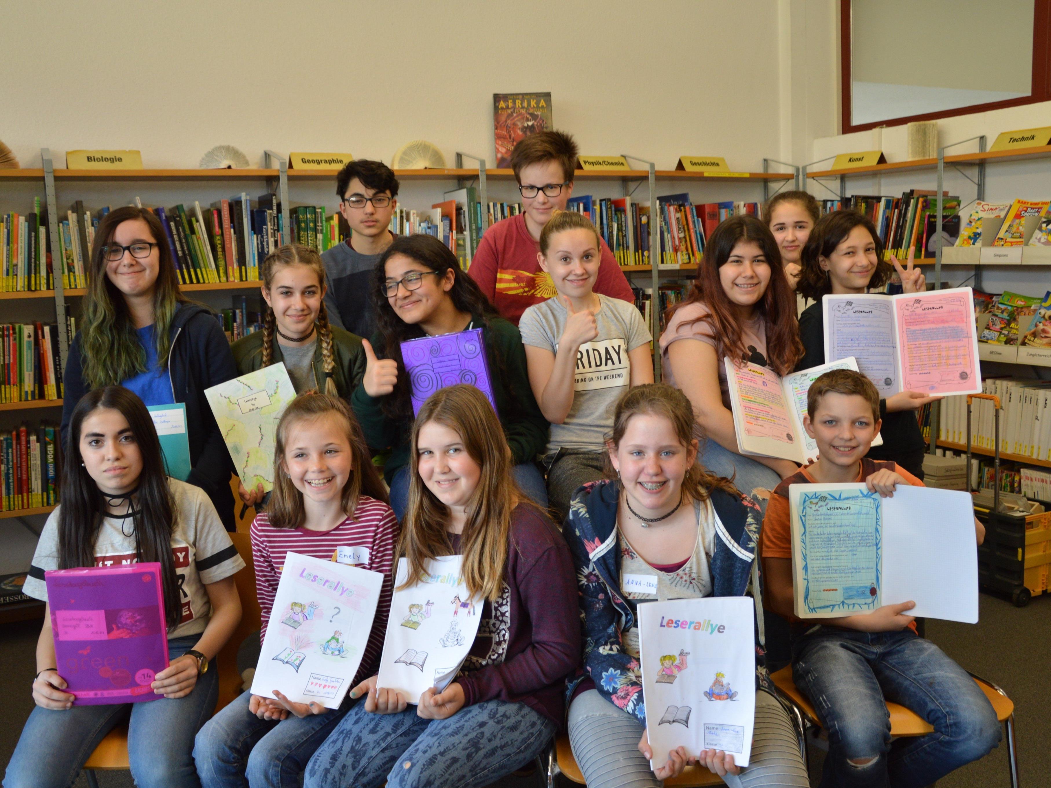 Alle Klassen der MS Rheindorf lesen fleißig