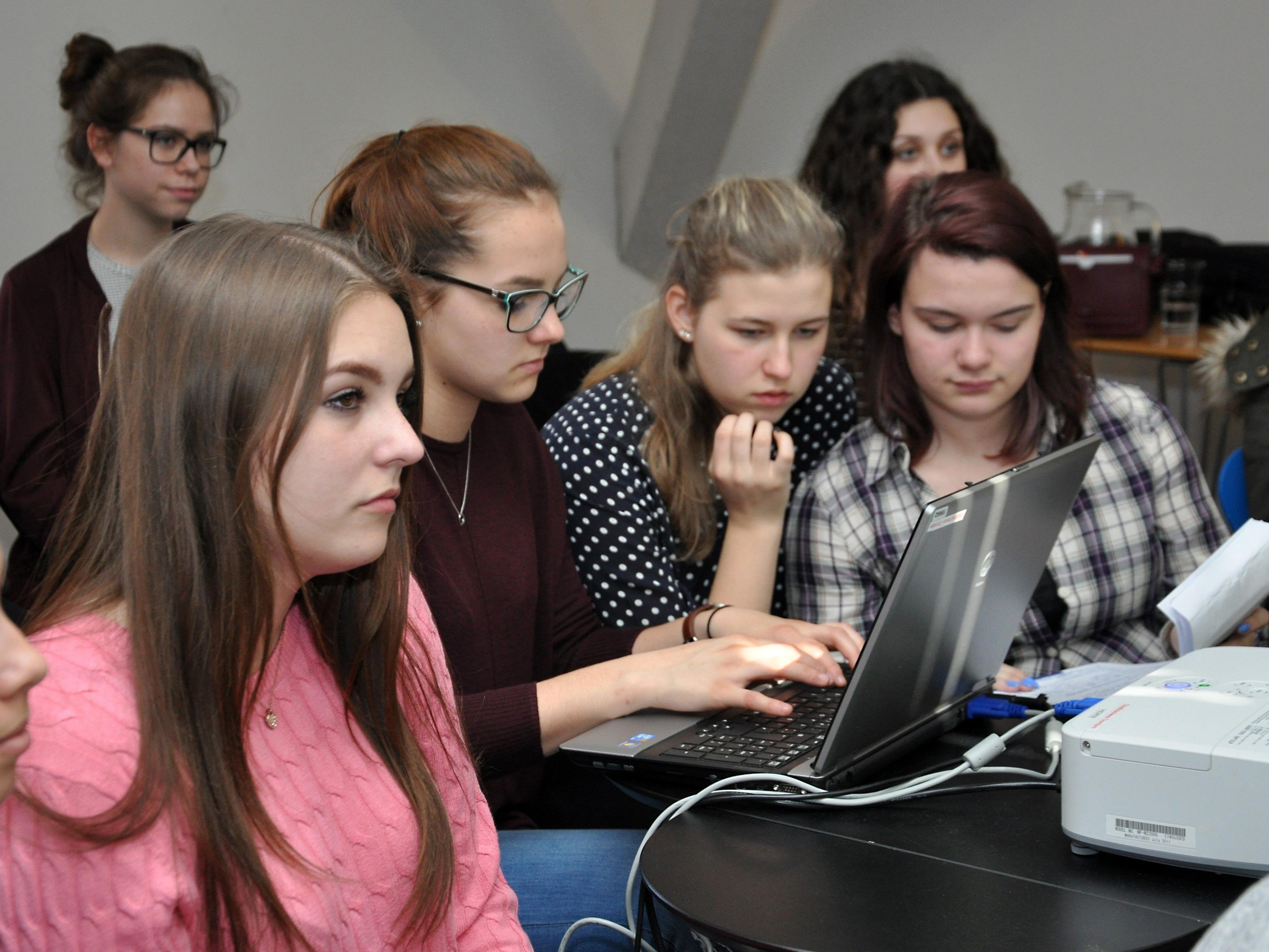 Von der Idee bis zur Programmierung – die Jugendlichen waren an allen Schritten beteiligt.