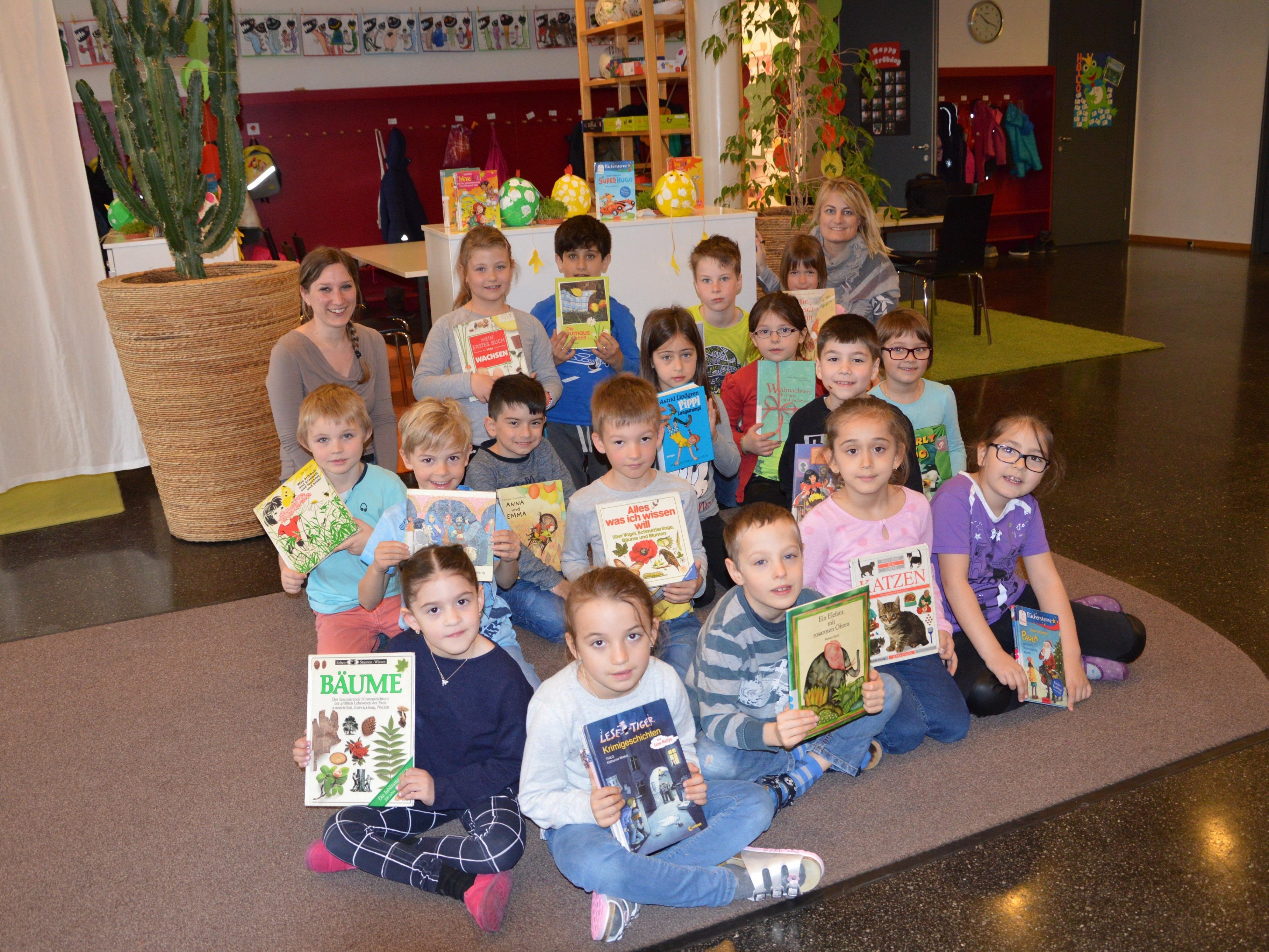 """Am """"Lesetag"""" stand das Lesen im Mittelpunkt der Schulen."""