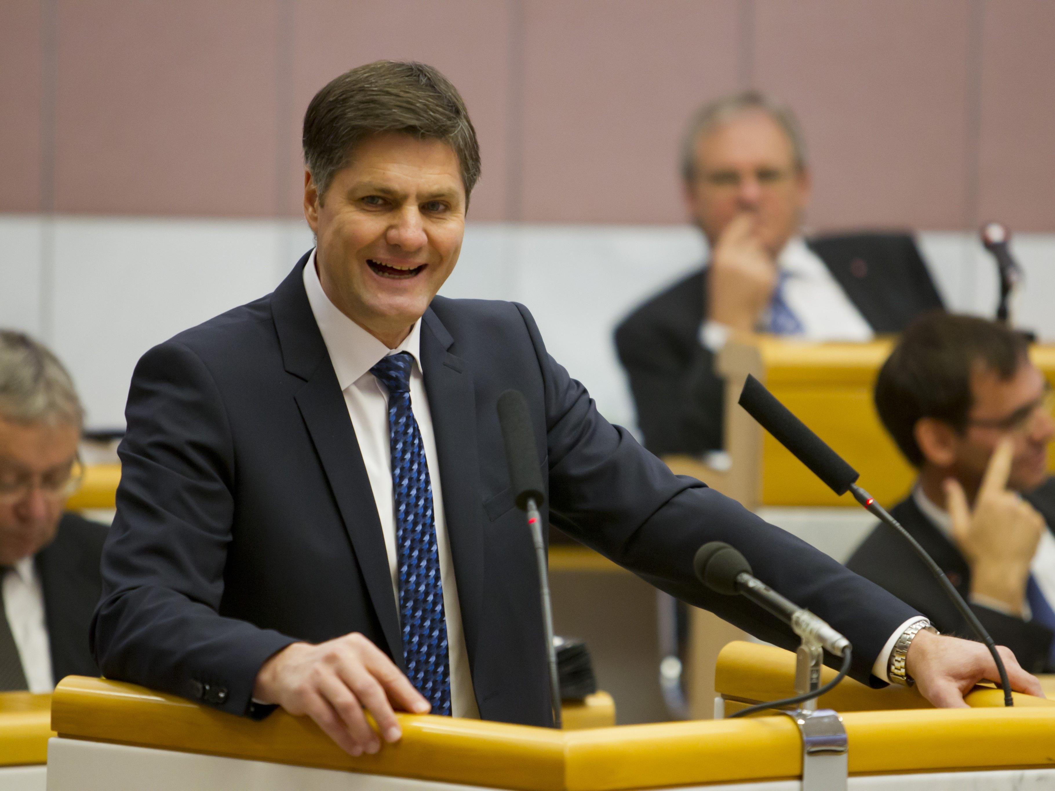 Daniel Allgäuer übt Kritik an der Landesregierung.