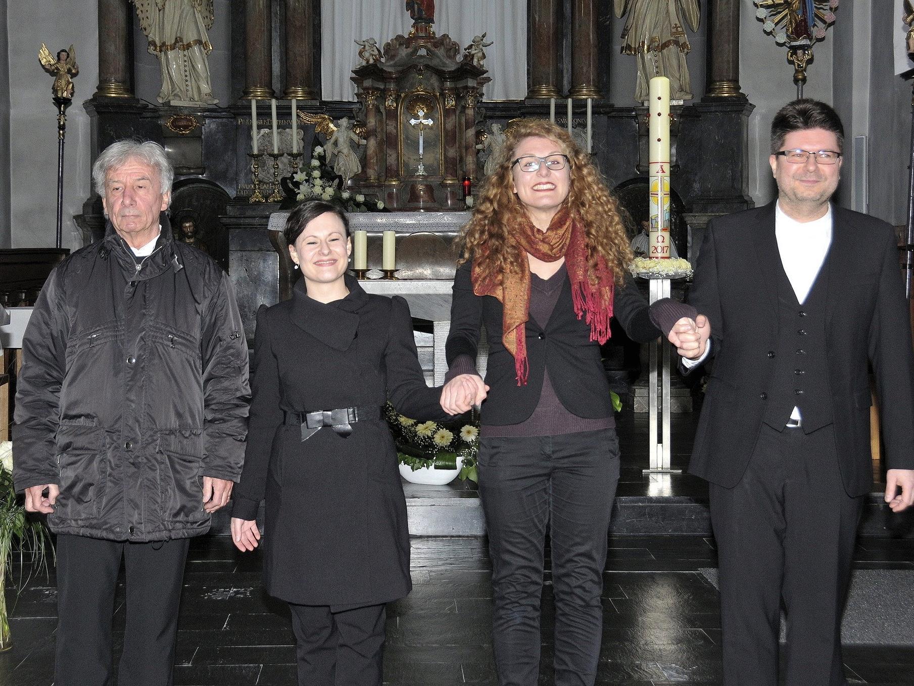 Feierliches Eröffnungskonzert der Bludescher Orgelkonzerte 2017