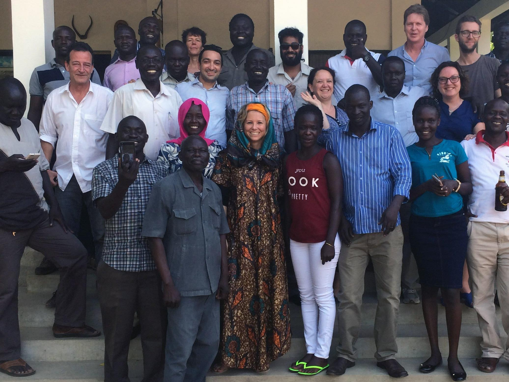 Ein Jahr lang arbeitete Stephanie Berchtold im Südsudan.