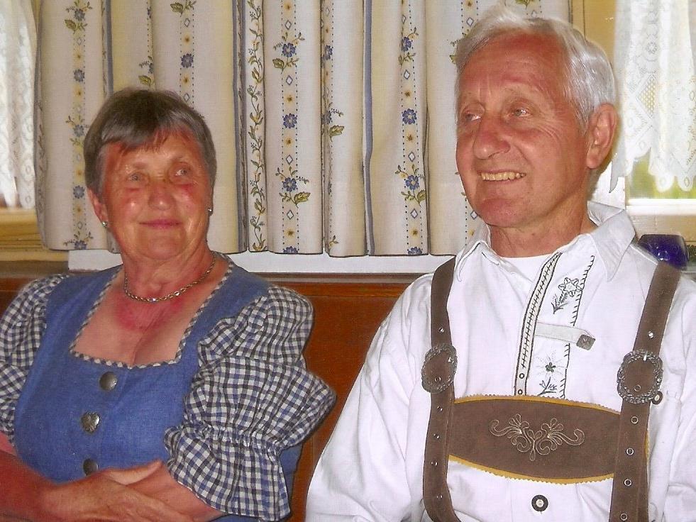 """Agnes und Johann Serbinek sind sich einig: """"Wir nehmen einander so, wie wir sind und genießen das Leben."""""""