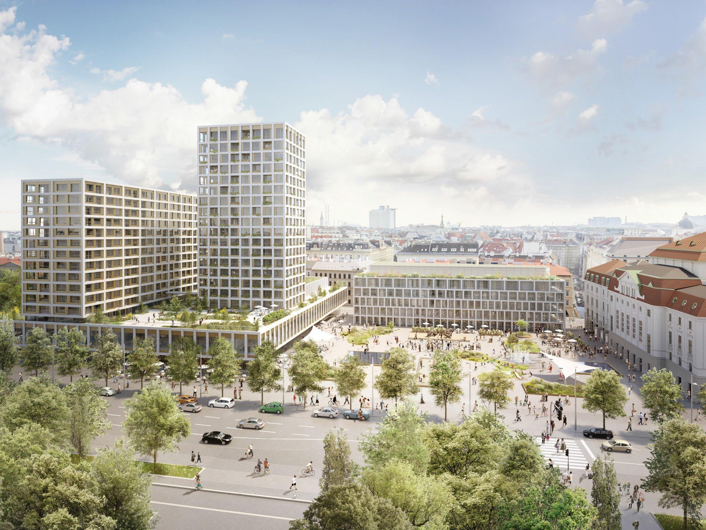 Eine Umfrage zum Heumarkt-Projekt offenbarte große Zustimmung der Wiener zur Umgestaltung