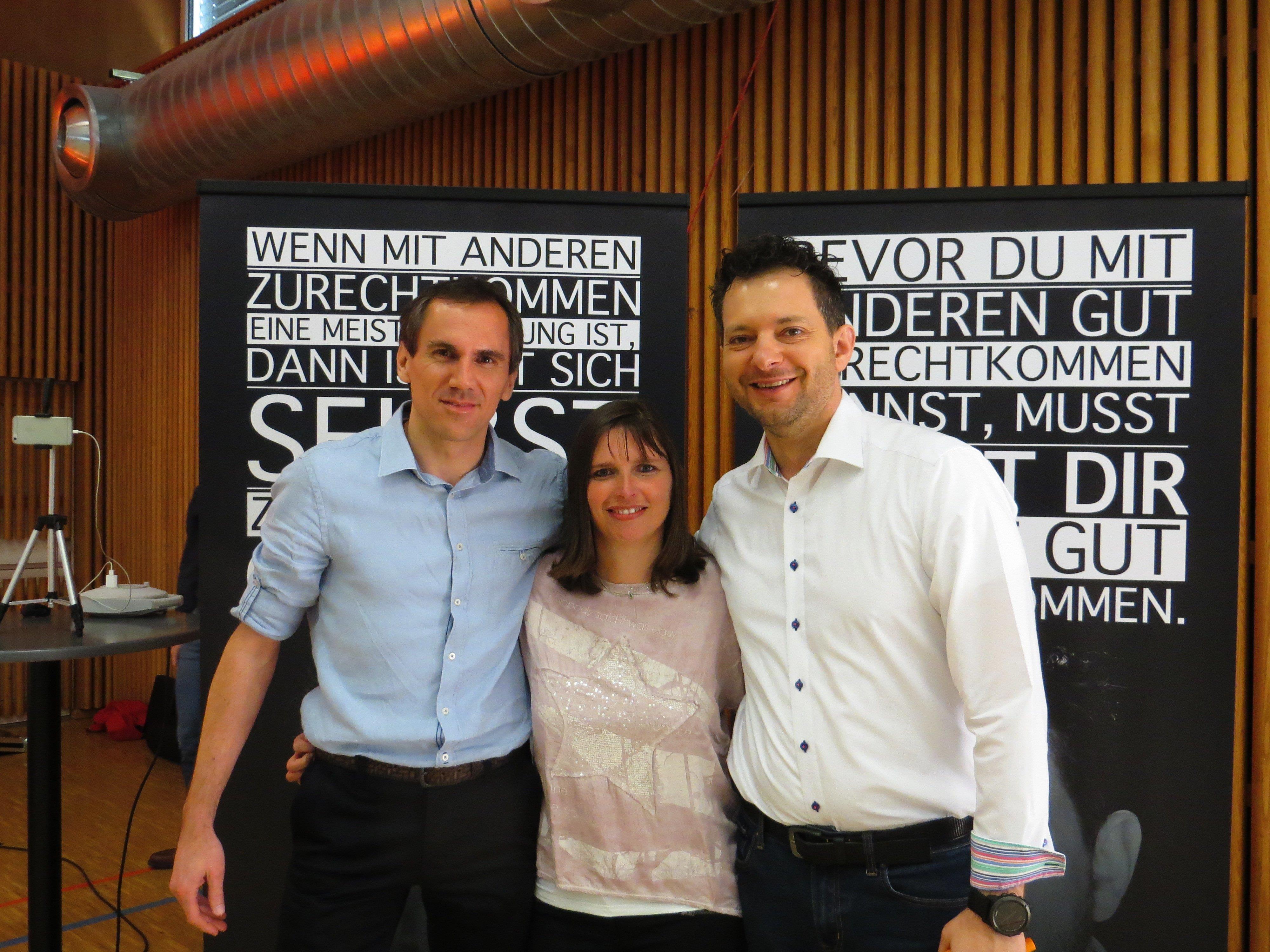 Thomas und Bettina Fuchs haben Top-Speaker Gereon Jörn in die Rheinauhalle gebracht
