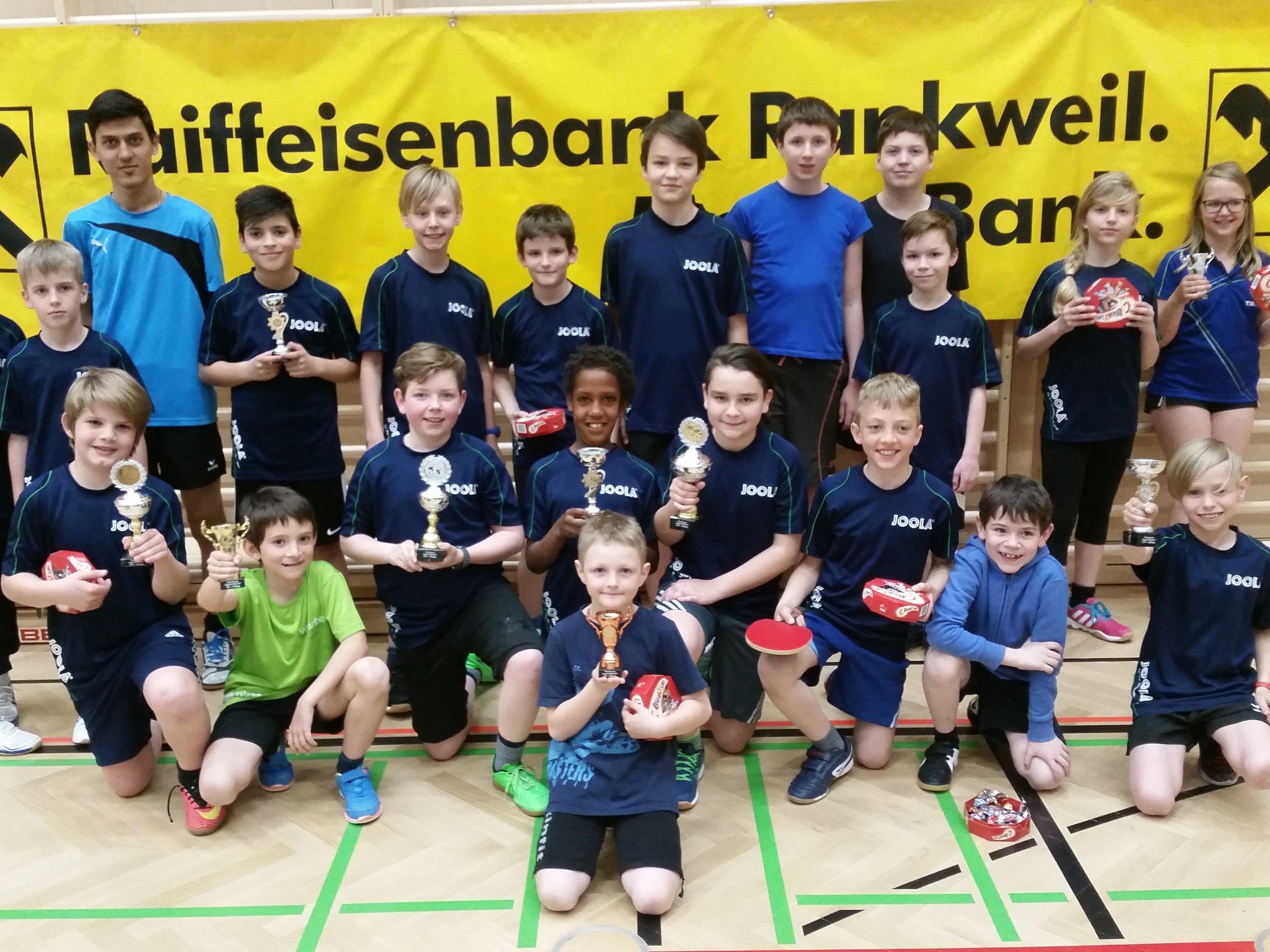 Teilnehmer Tischtennis-Jugend-VM 2017