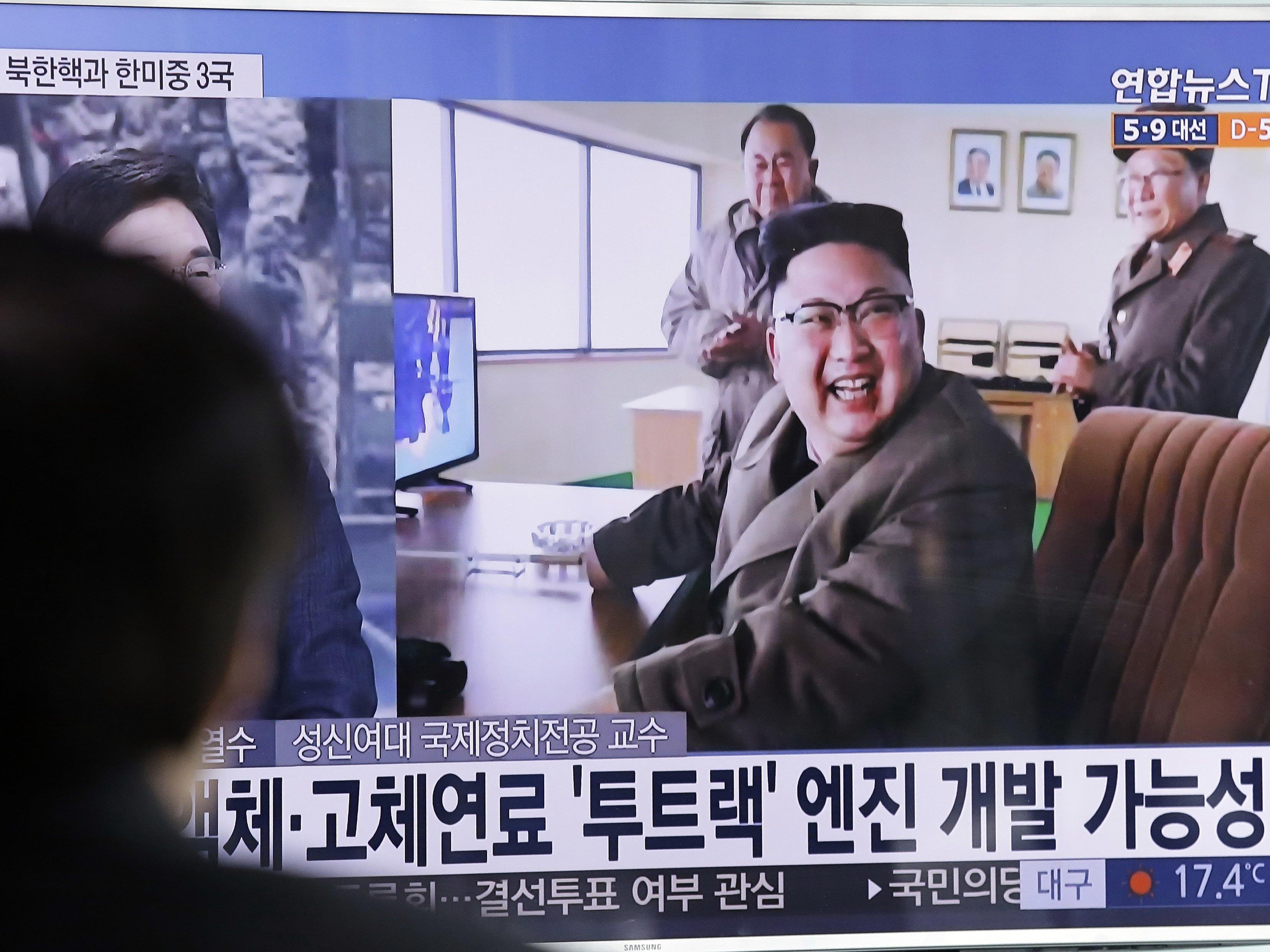 Wenn China und die USA sich streiten, könnte Kim Jong-Un der lachende Dritte sein.