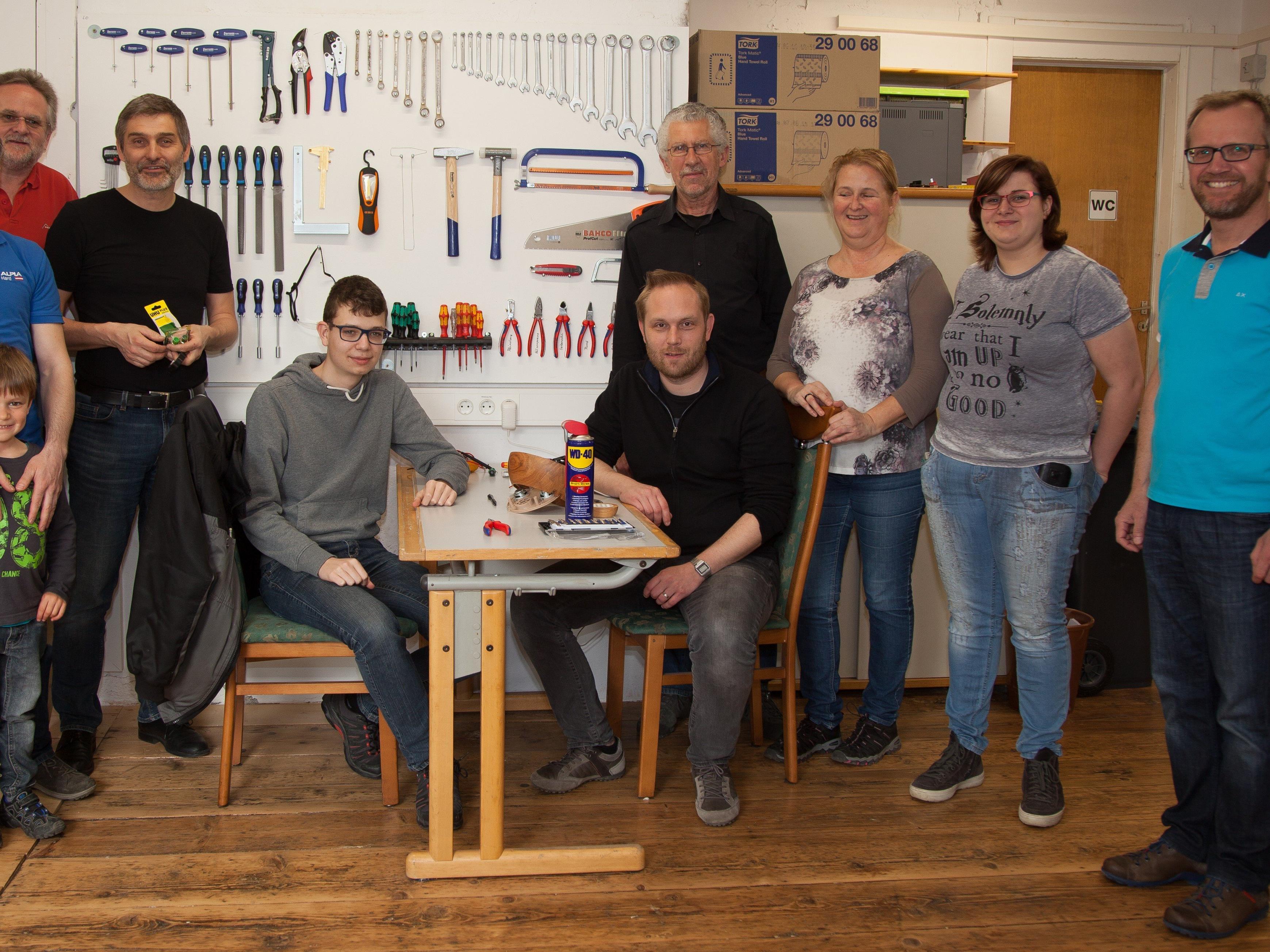 Das Team des Repair Cafés freut sich über Ihren Besuch!
