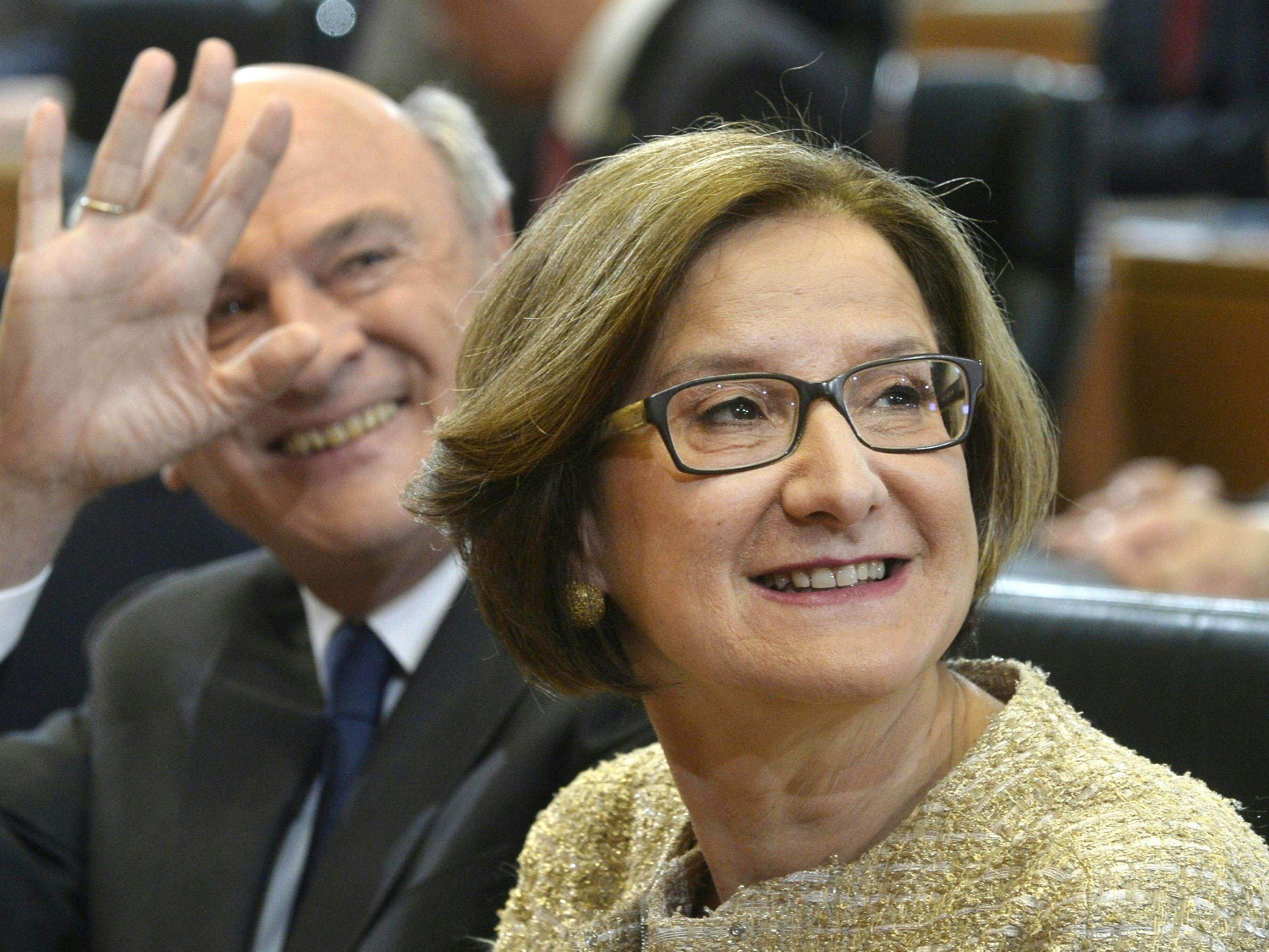 Johanna Mikl-Leitner wurde zur Landeshauptfrau von Niederösterreich gewählt.
