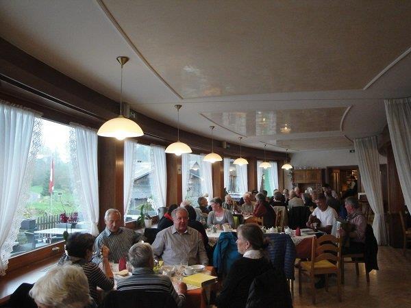 PVÖ Mittel- und Hinterbregenzerwald bei Bergfrühstück