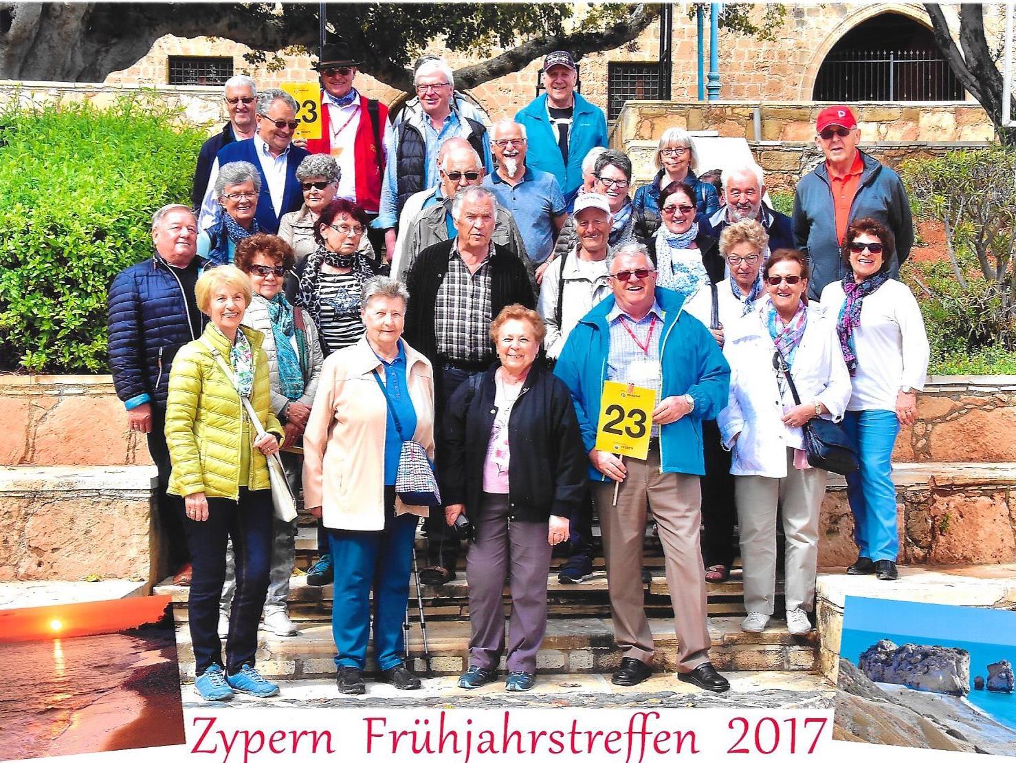 Gruppe 23 der Montafoner Pensionisten
