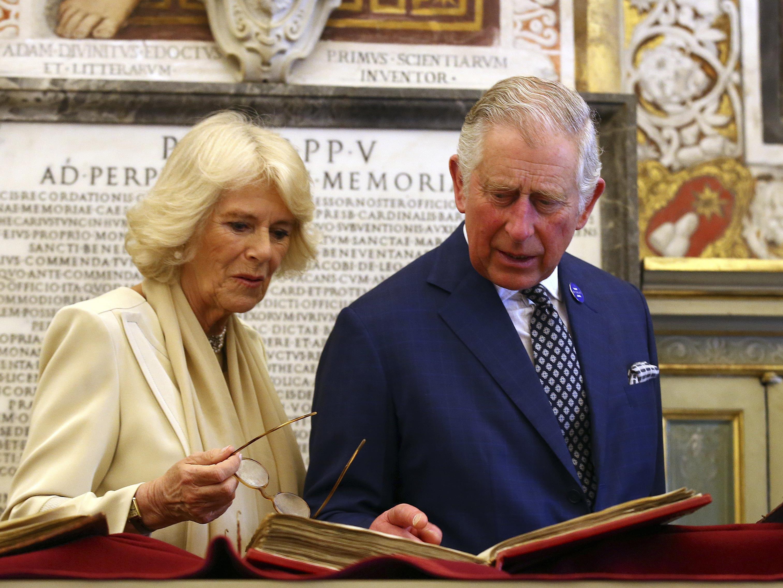 Prinz Charles und Camilla sind ab heute in Wien