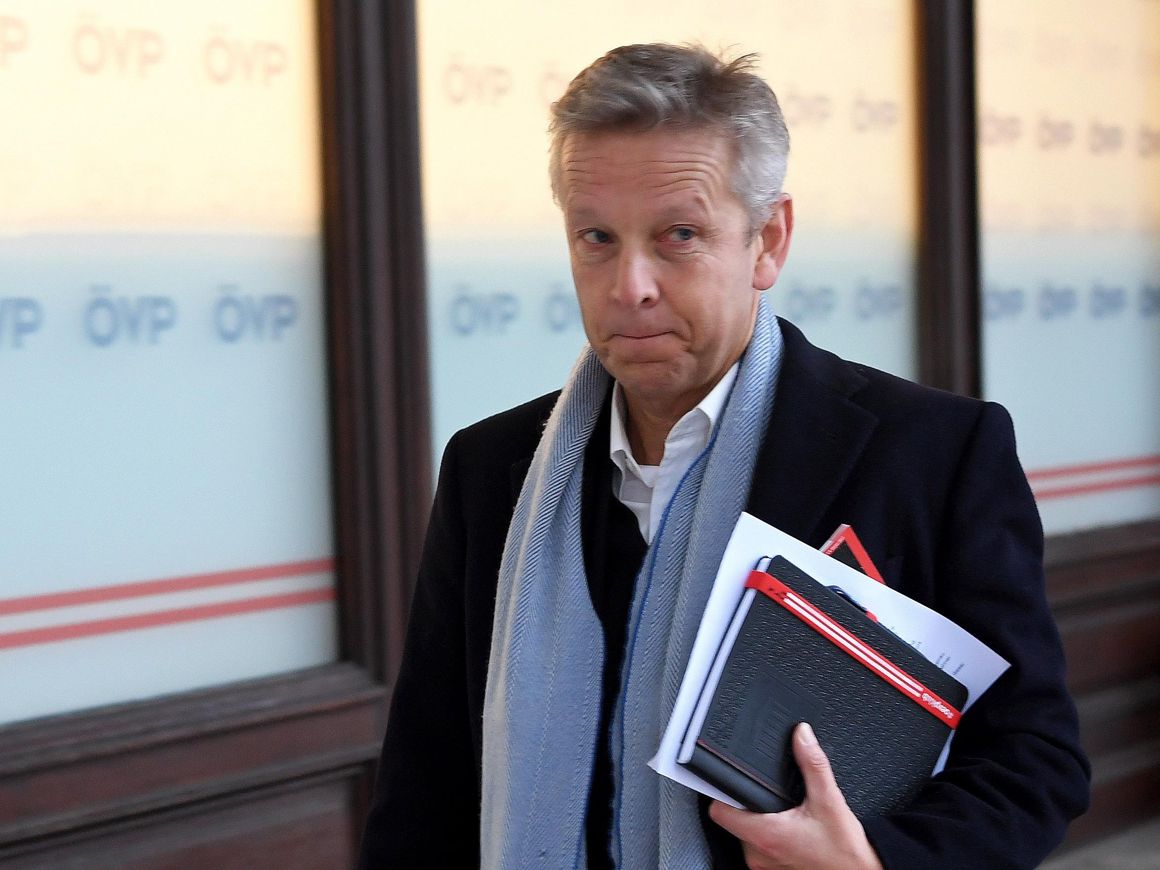 Das Verfahren gegen ÖVP-Klubchef Reinhold Lopatka wurde eingestellt