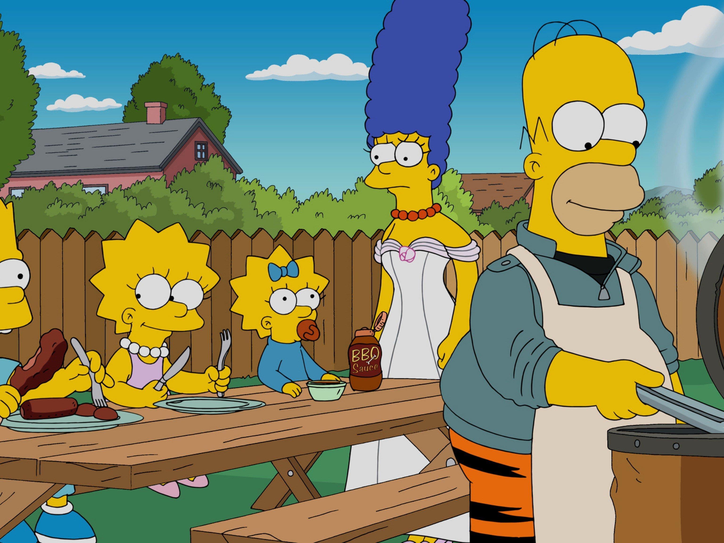Marge, Homer, Bart oder Lisa?