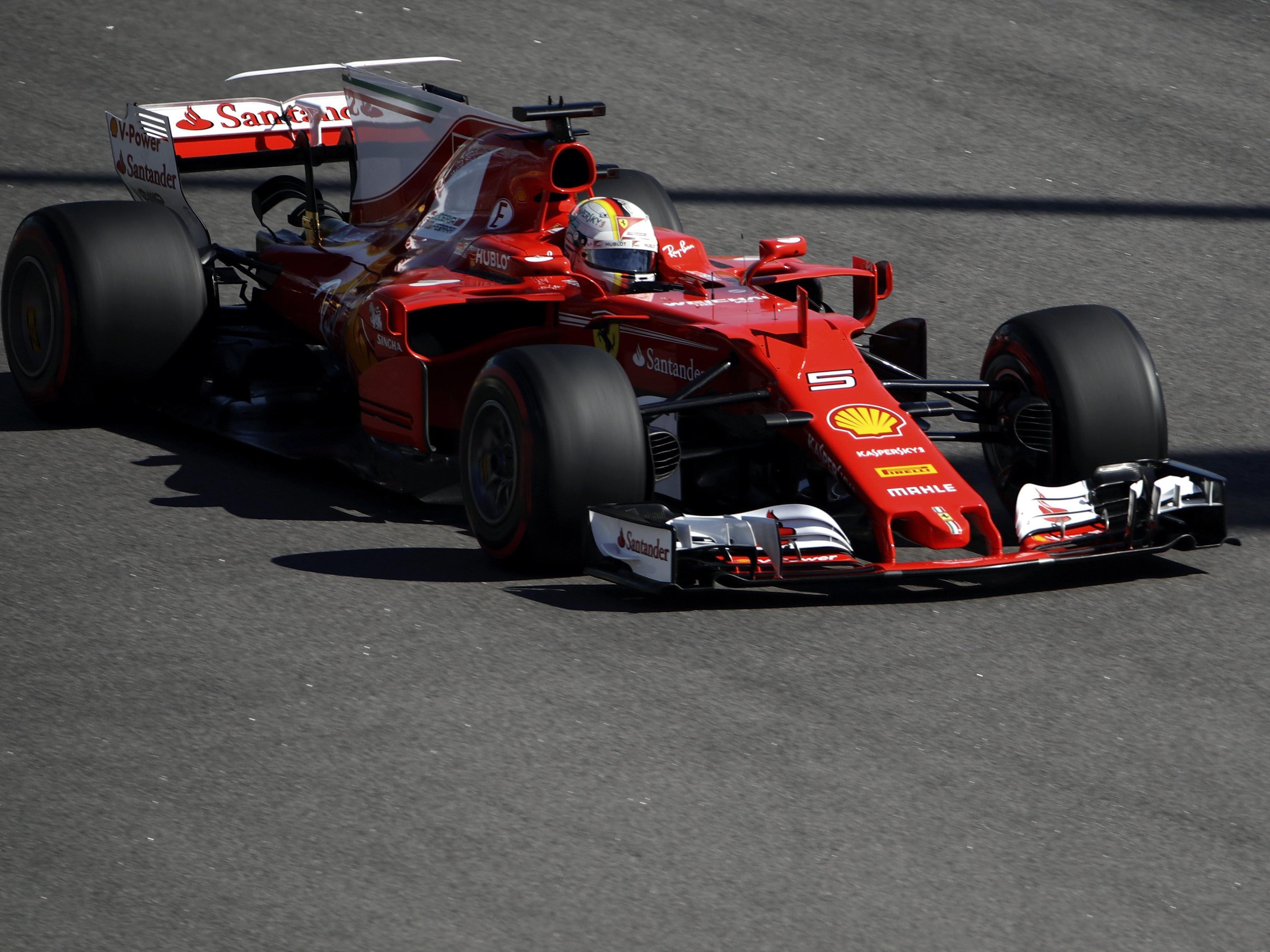 Sebastian Vettel sicherte sich die Pole in Sotschi.