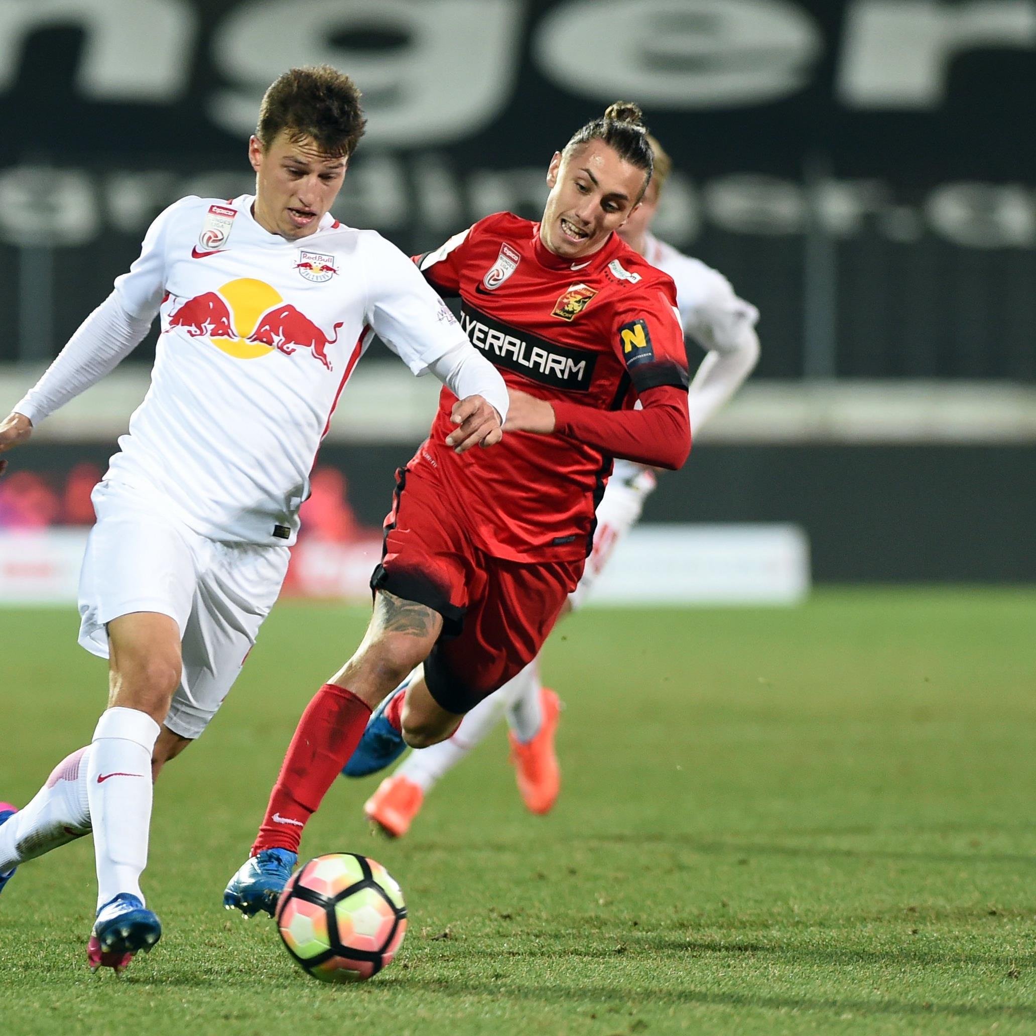 Die Admira empfängt Red Bull Salzburg im Semifinale des ÖFB-Cups.