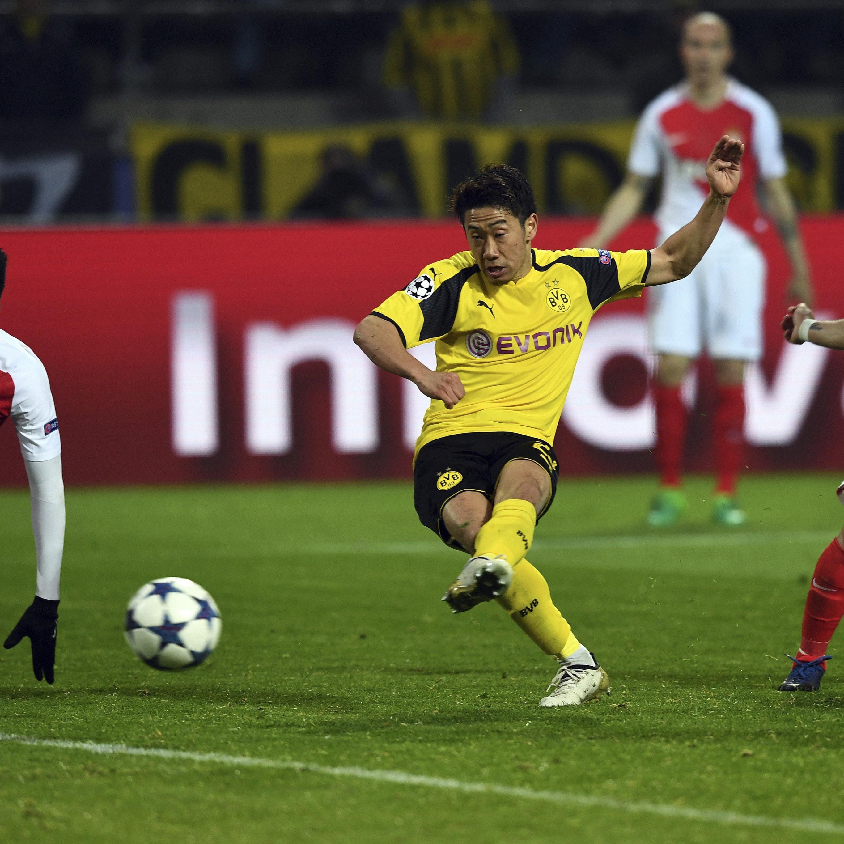 Borussia Dortmund versucht in Monaco, den 2:3-Rückstand aus dem Hinspiel aufzuholen.