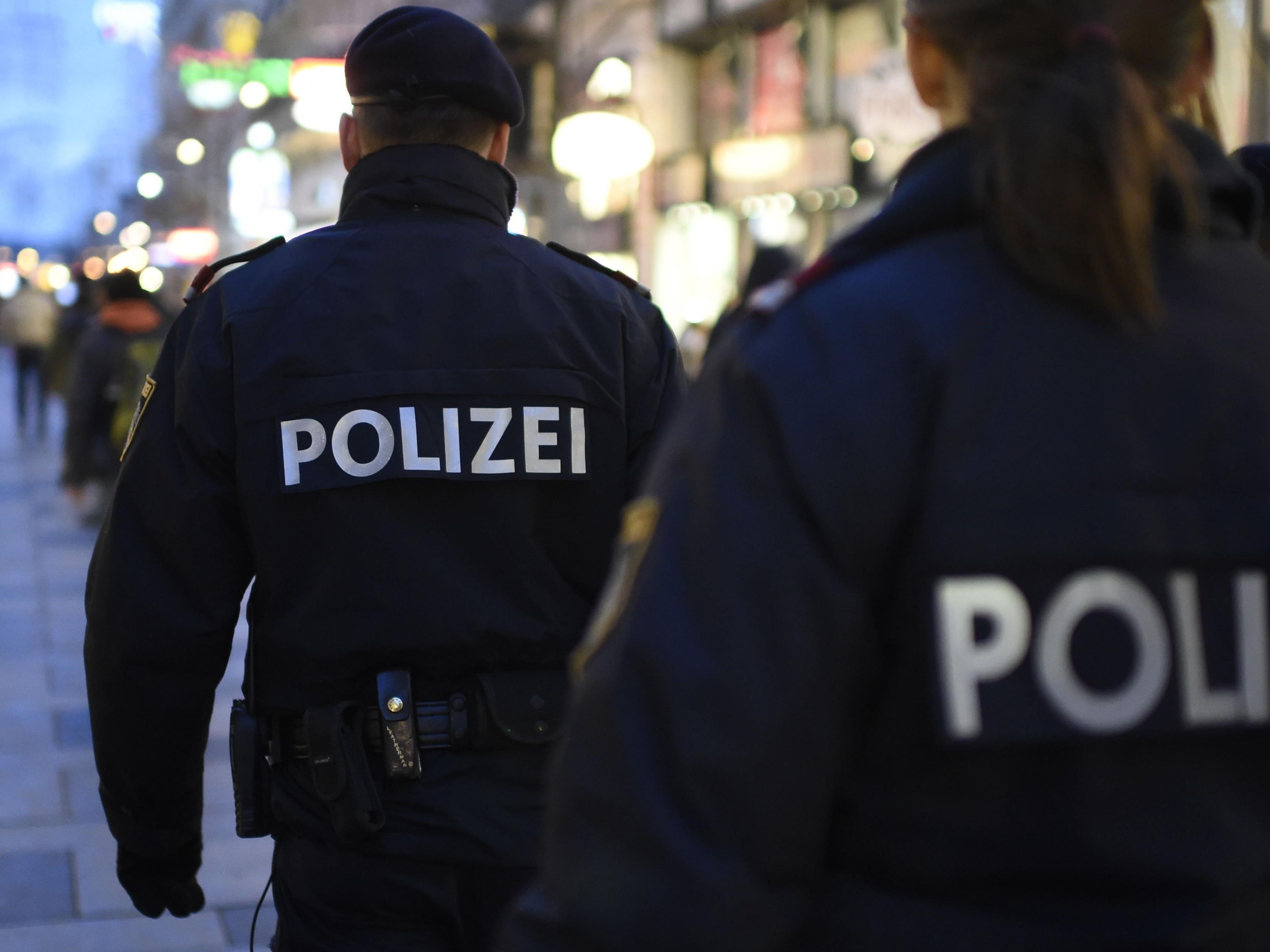 Eine versuchte Messer-Attacke rief die Wiener Polizei auf den Plan